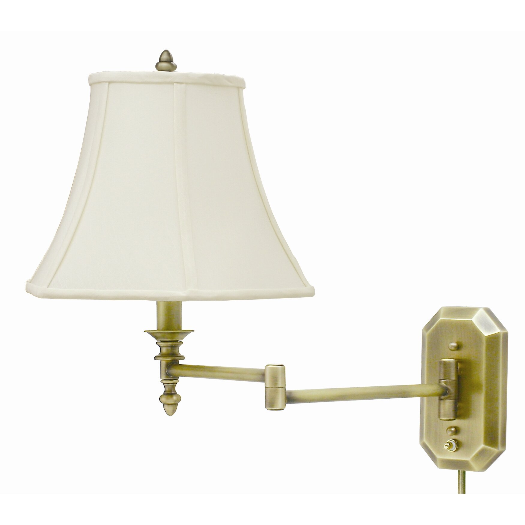 Wall Lamps For Pictures : Swing Arm Wall Lamp Wayfair