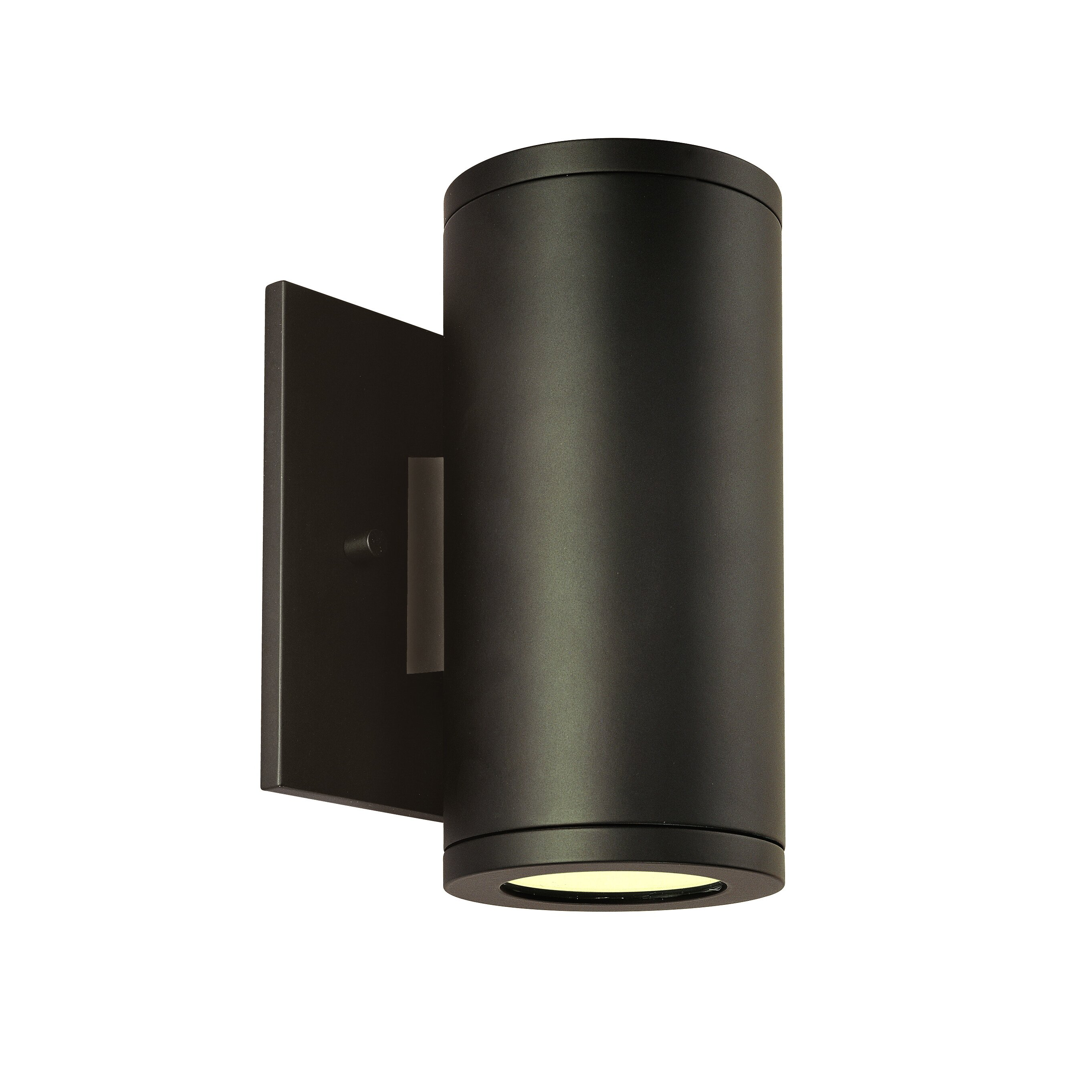 Csl silo sconce reviews wayfair for Exterior light sconce