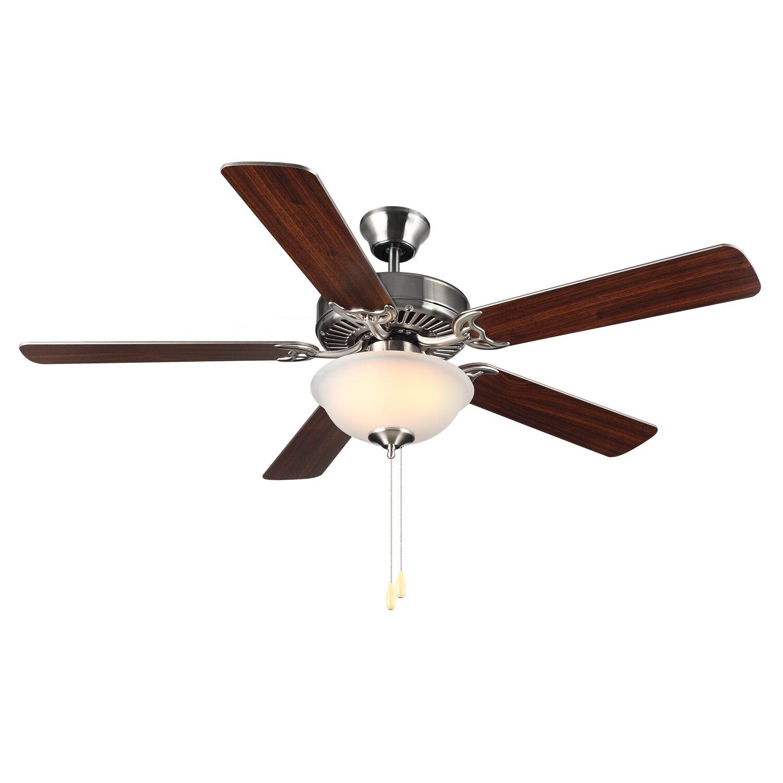 Monte Carlo Fan Company 52 Homebuilder Ii Ceiling Fan