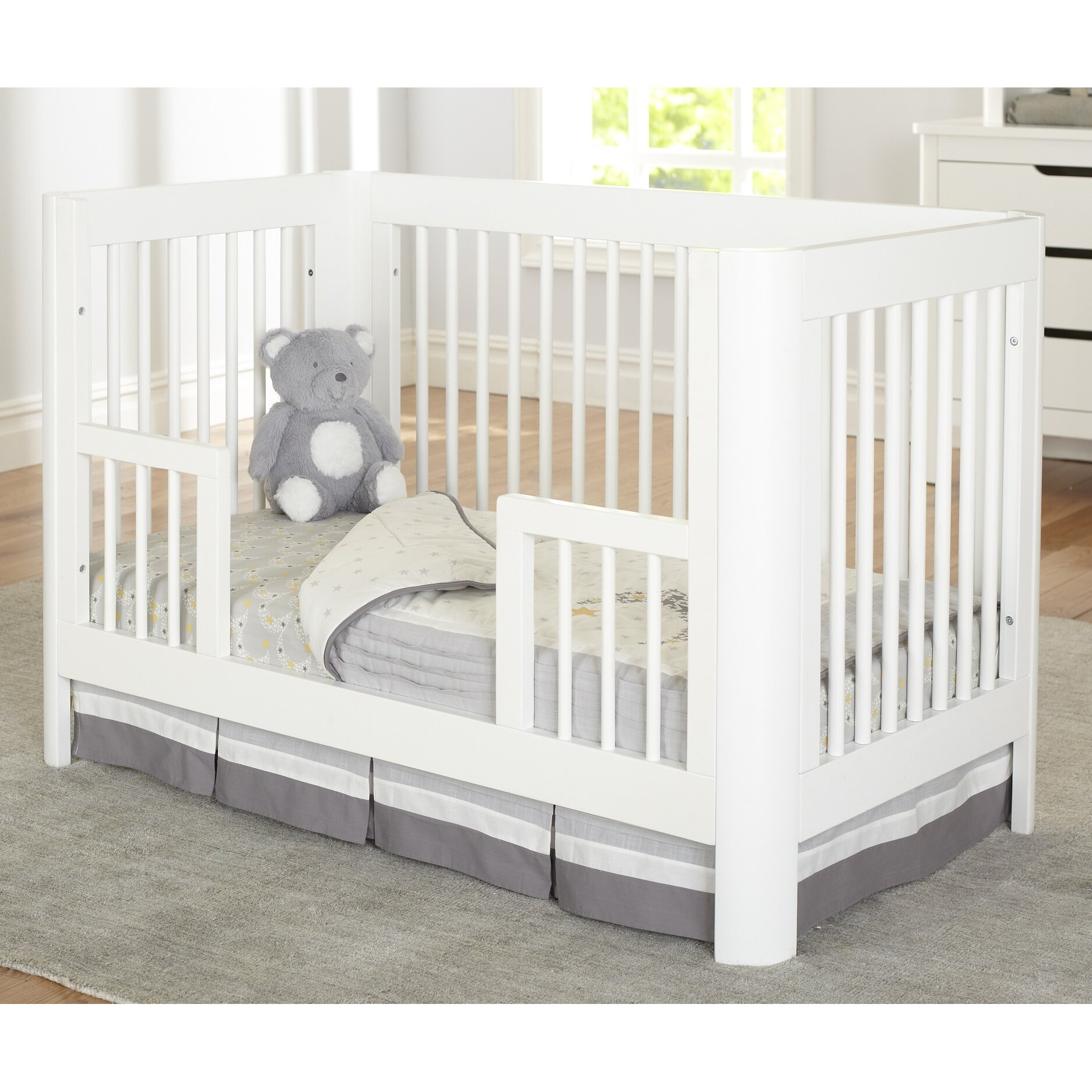 Sorelle Crib Guard Rail Baby Crib Design Inspiration