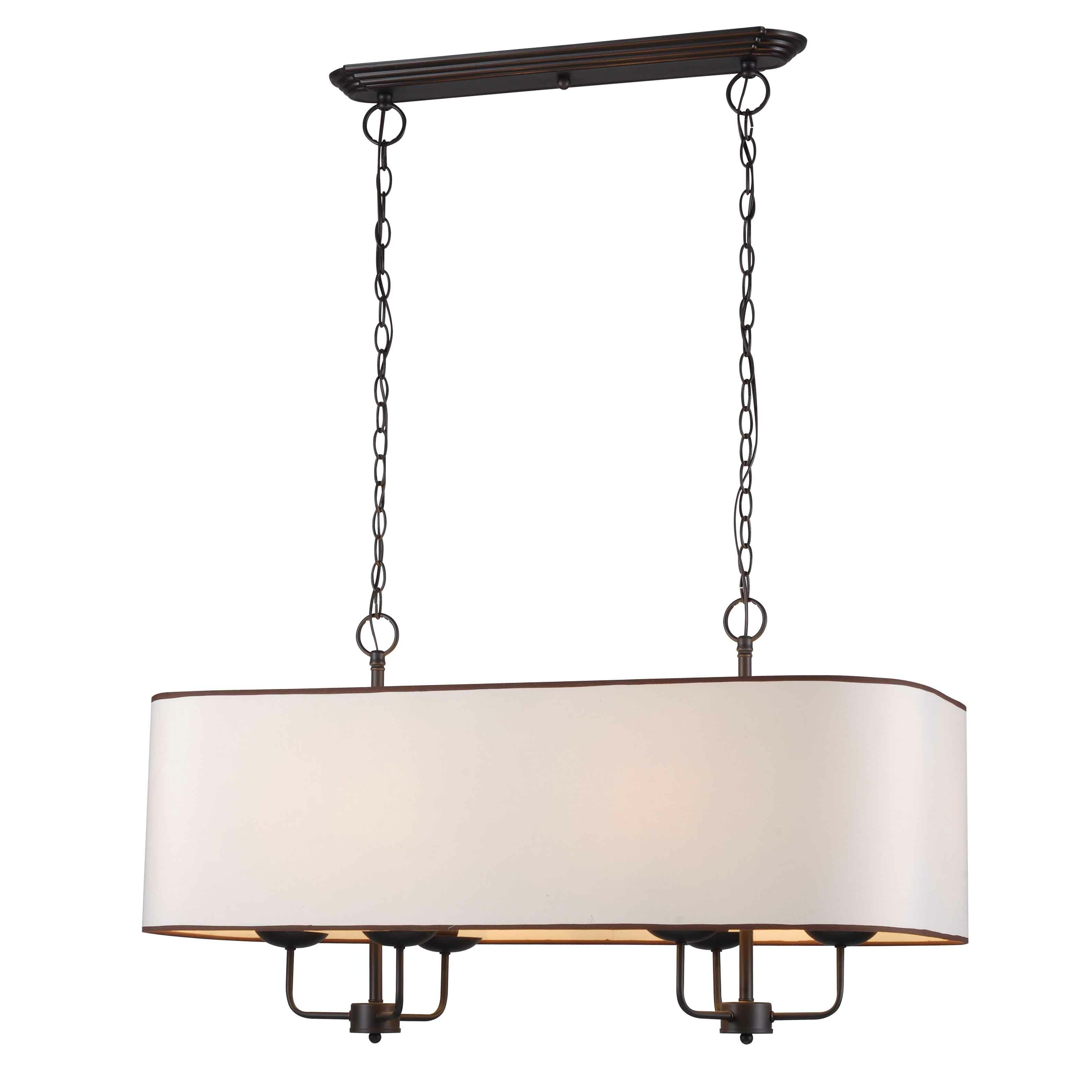 Kitchen Island Pendant Lighting: World Imports Lighting Colonial 6 Light Kitchen Island