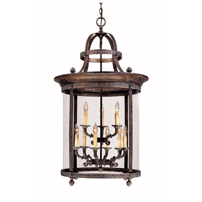 world imports lighting french country 9 light outdoor