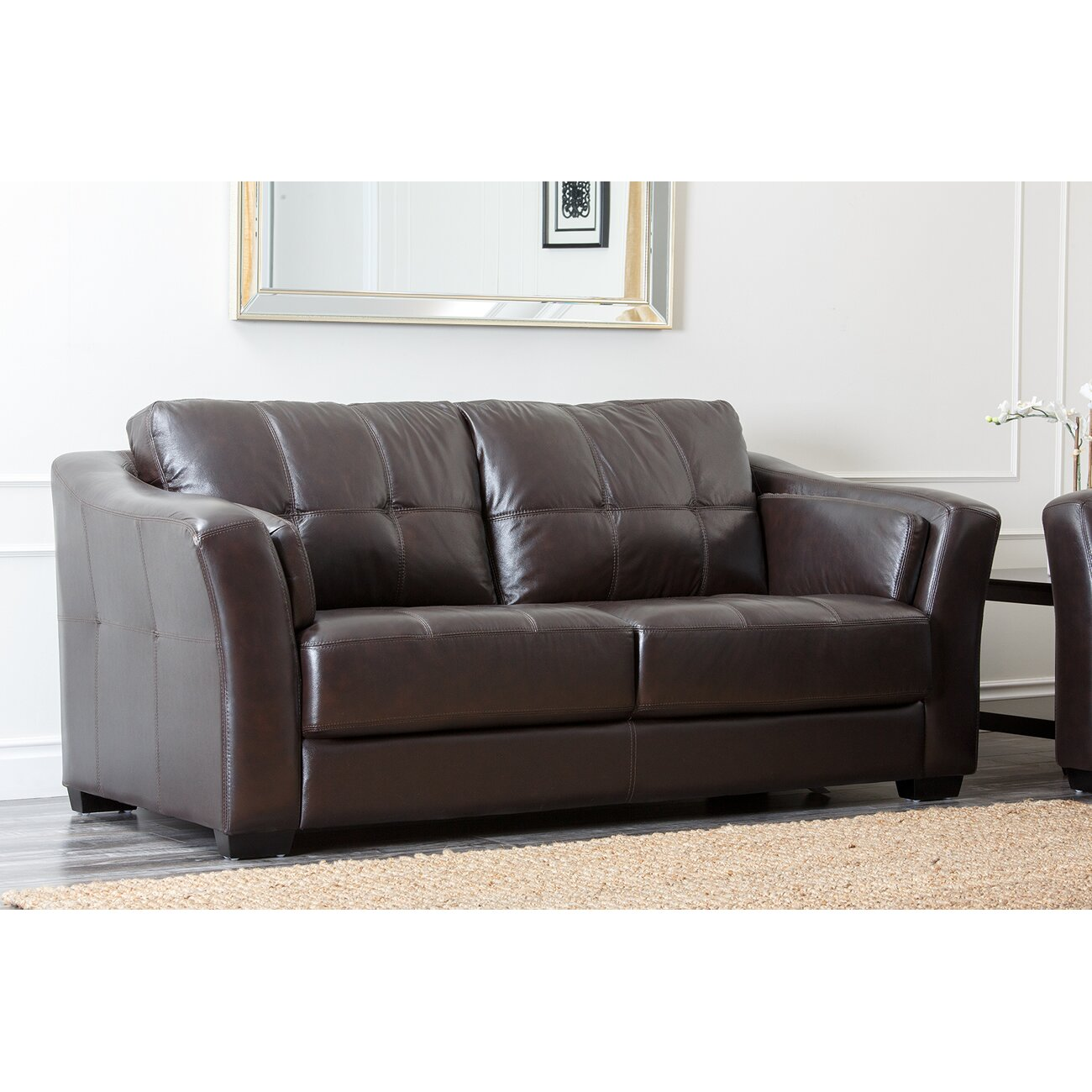 Sydney premium leather sofa wayfair Living room furniture sydney