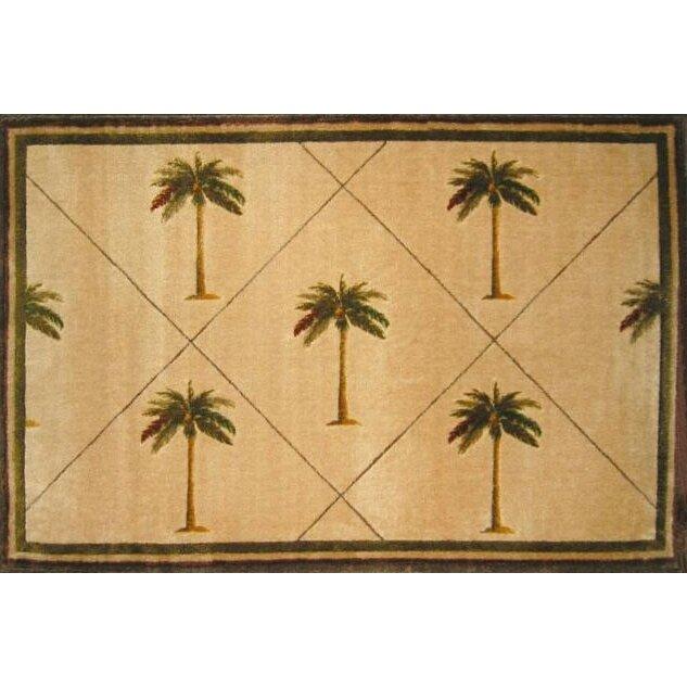 la rugs fun time palm fonds palm tree novelty rug reviews wayfair