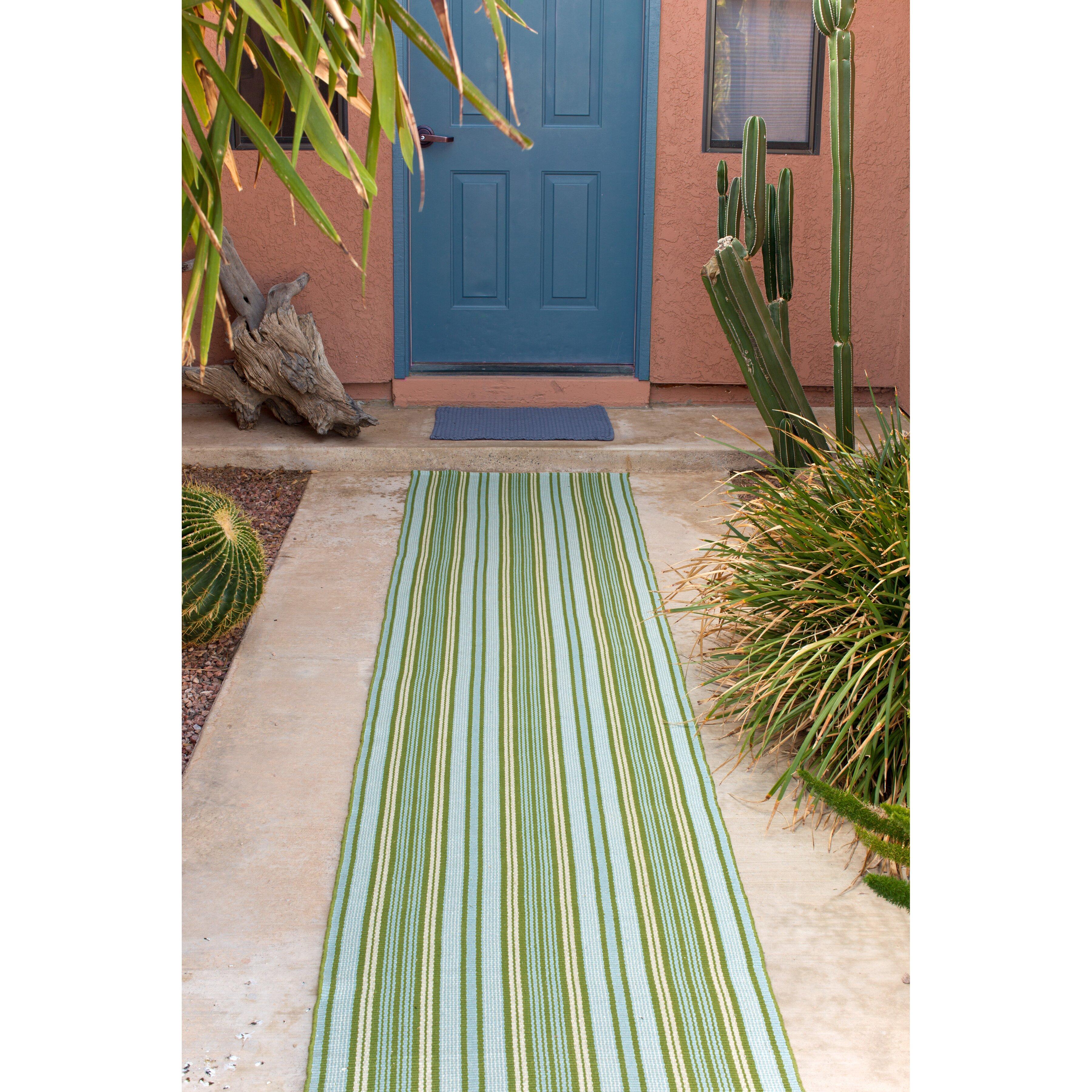 dash and albert rugs indoor outdoor rope denim outdoor area rug reviews wayfair. Black Bedroom Furniture Sets. Home Design Ideas