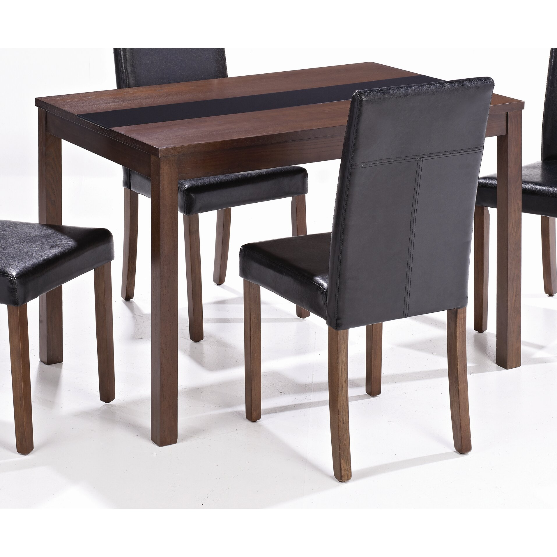 Home Zone Furniture Ashleigh Dining Table And 4 Chairs Reviews Wayfair Uk