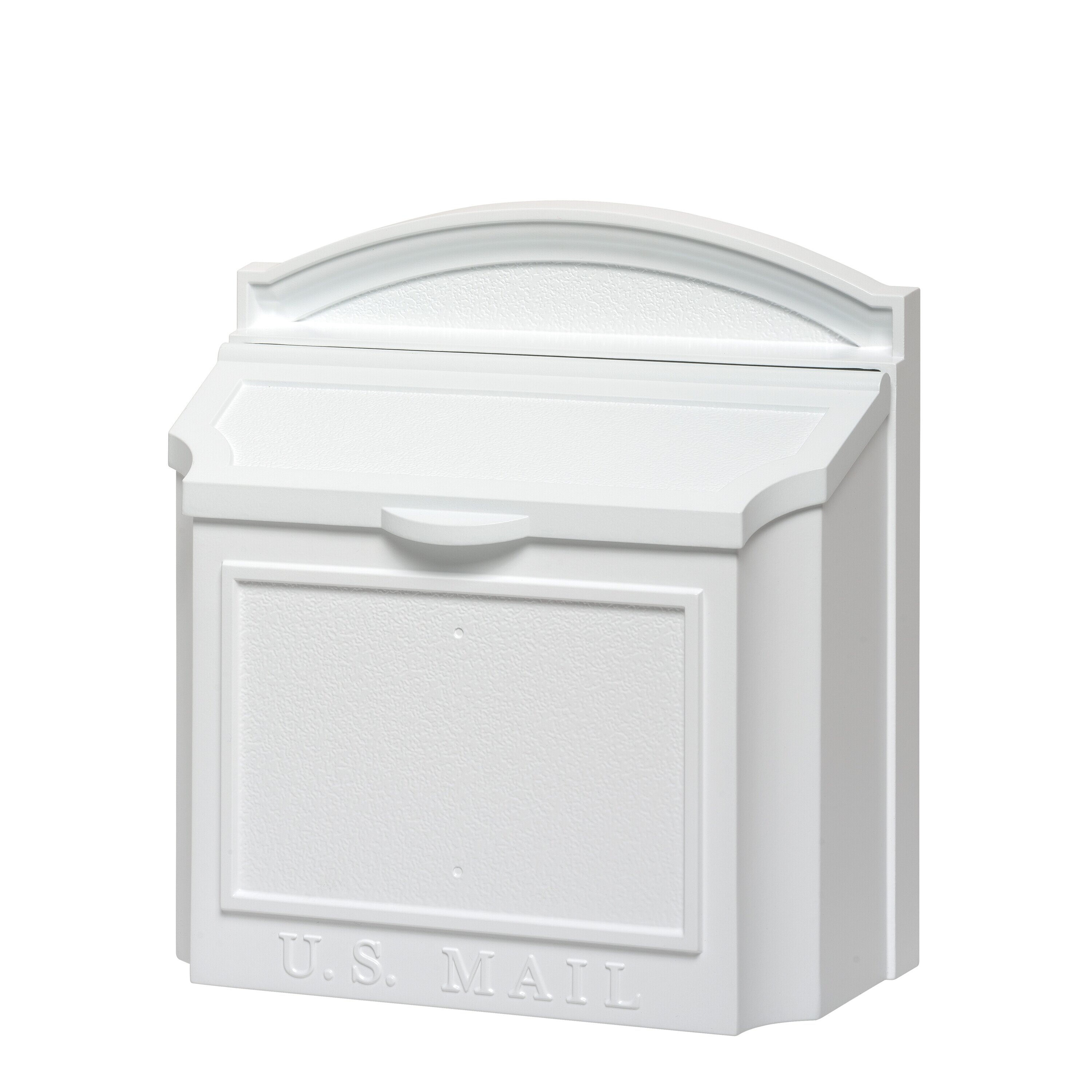 Whitehall Products Wall Mounted Mailbox With Outgoing Mail