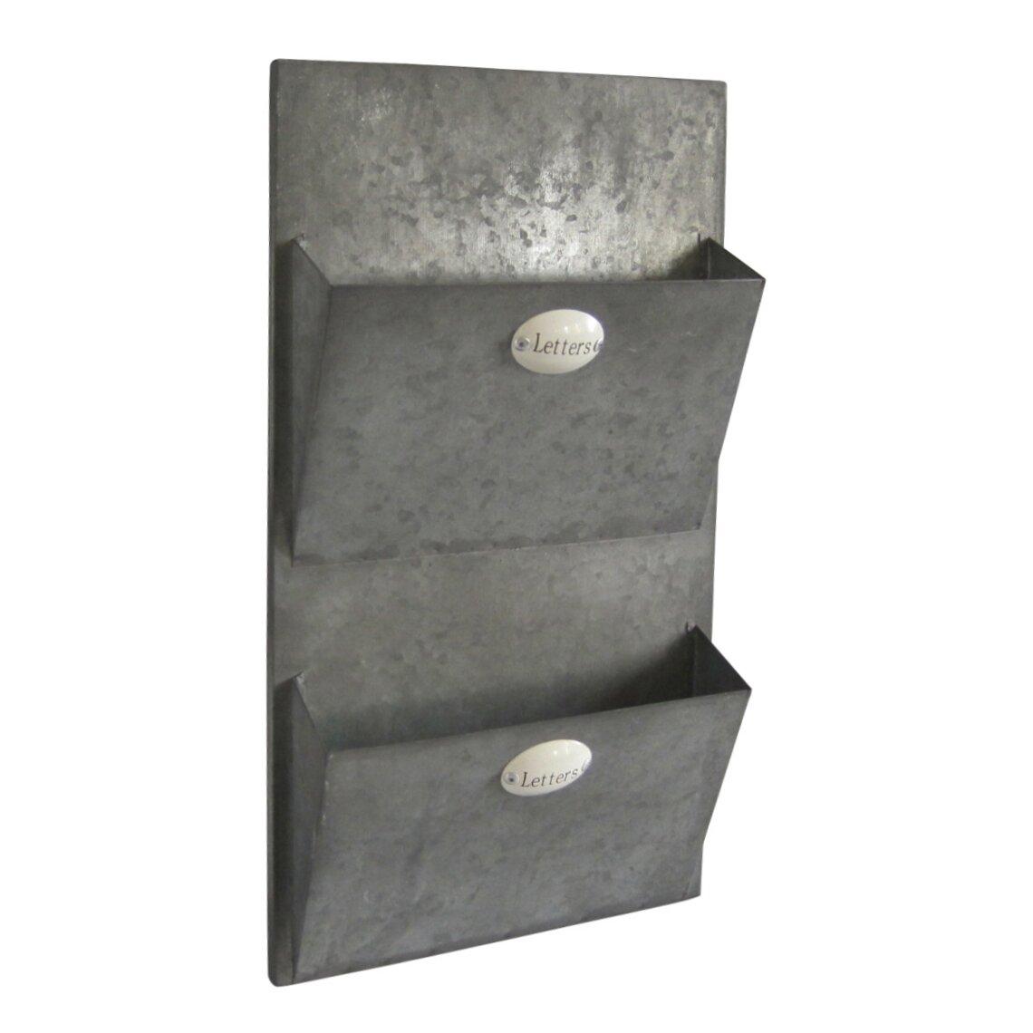 Cheungs Metal Wall Mail Holder Amp Reviews Wayfair