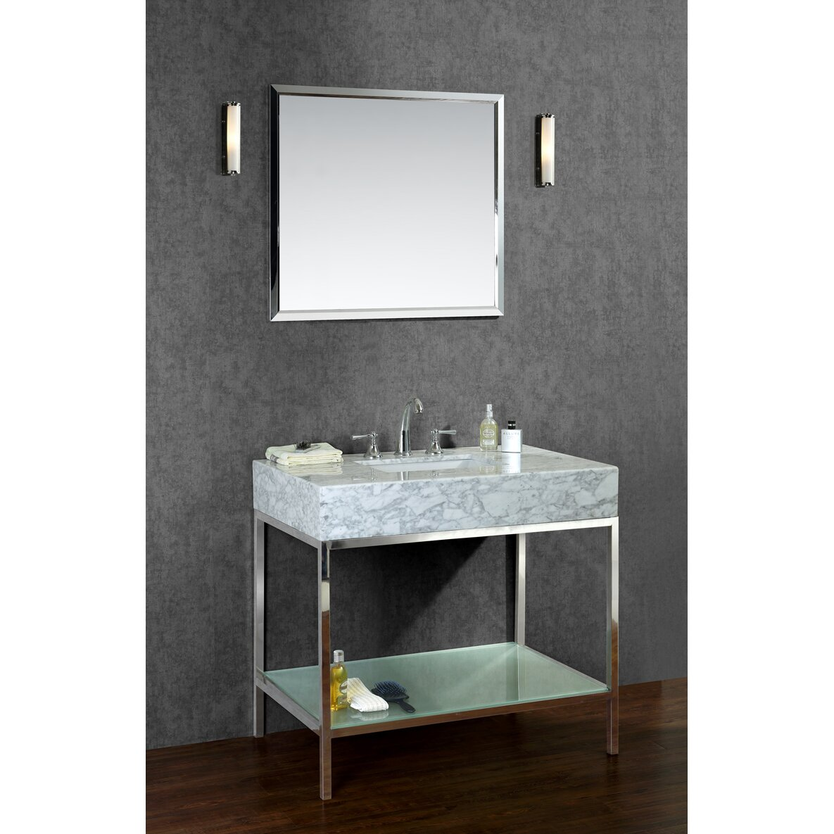 Lovely secure img wfrcdn lf maxsquare hash Ariel Bath Brightwater Single Sink Bathroom Vanity Set SCBRIPSS