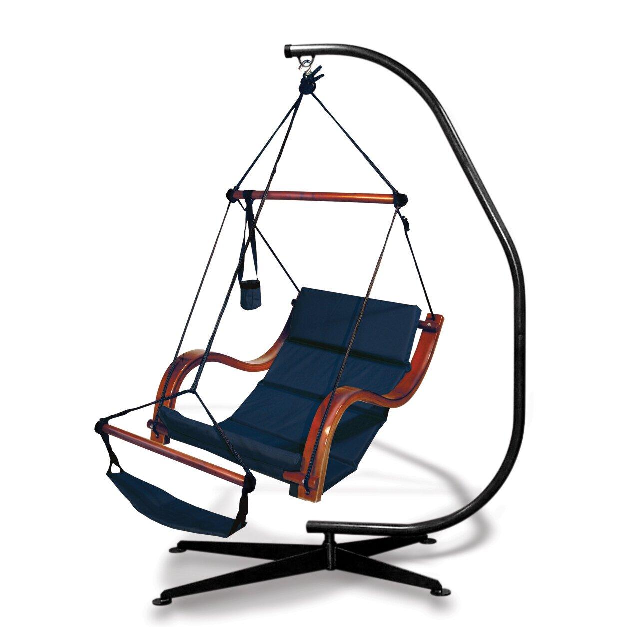 1255 #A63D25 Outdoor Patio Furniture Chair Hammocks Hammaka SKU: YT1142  Image Nami Patio Doors