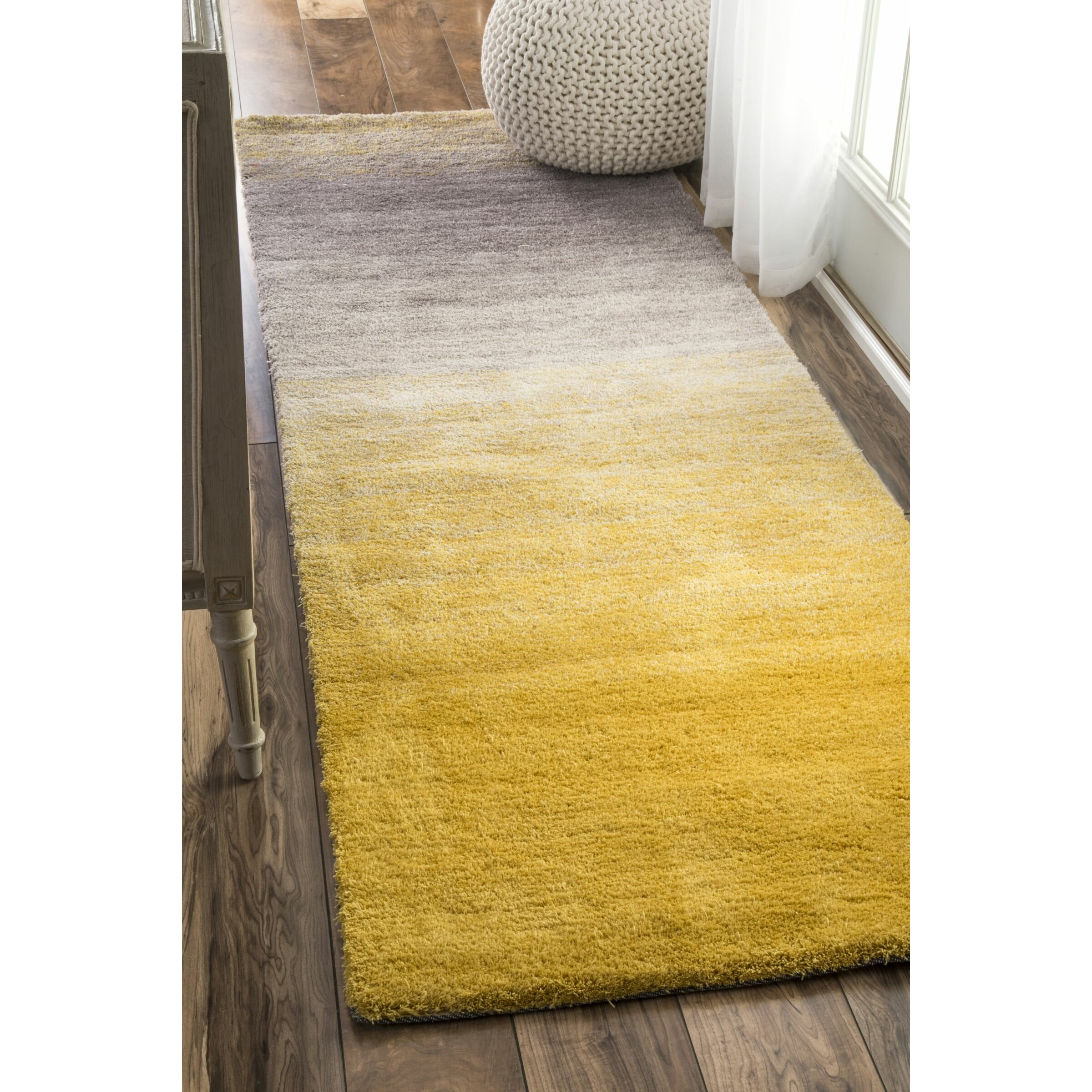 nuloom sion yellow area rug reviews wayfair