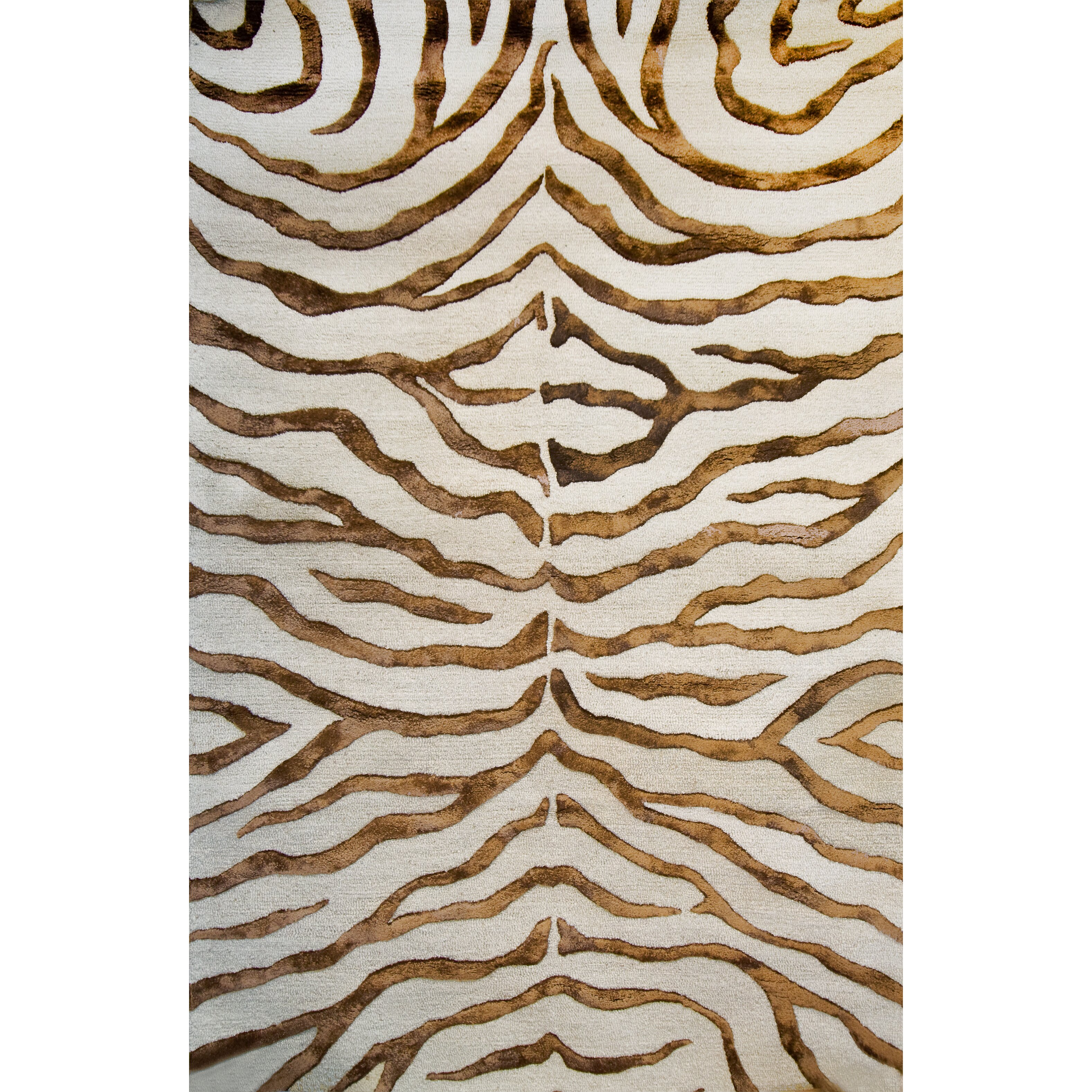 Graham And Green Zebra Rug: NuLOOM Earth Soft Zebra Brown Area Rug & Reviews