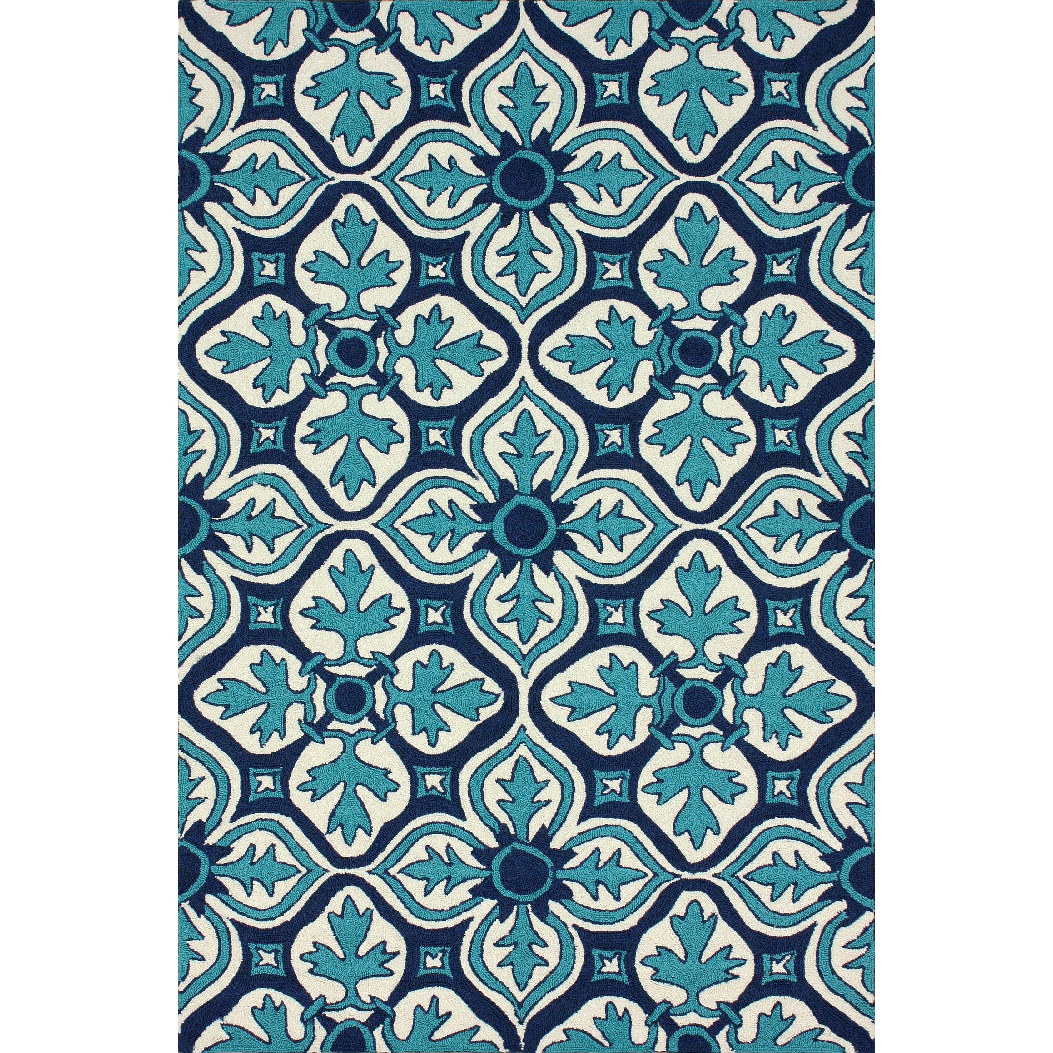 Homestead blue farida area rug wayfair - Fliesen scheld ...