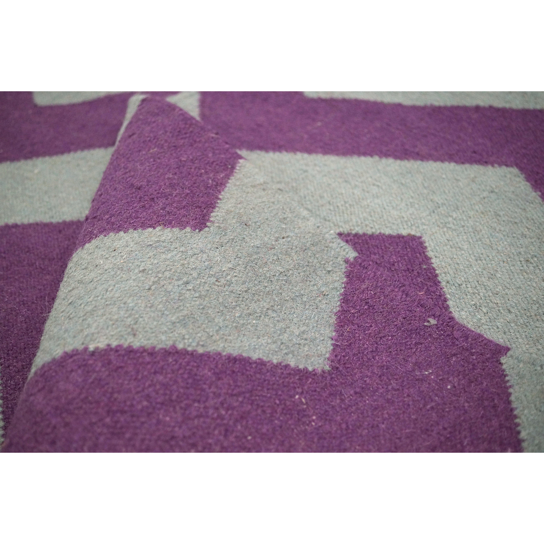 Moderna Pink Chevron Rug