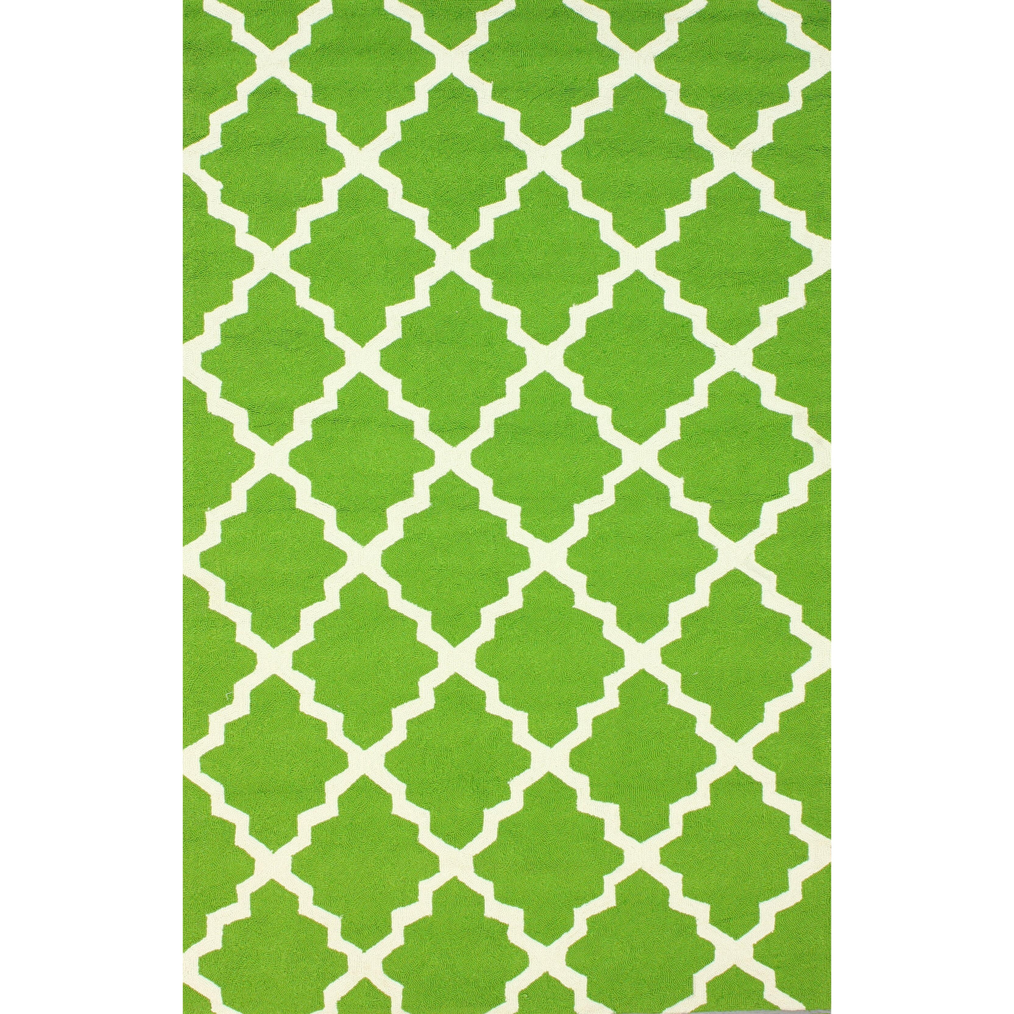nuLOOM Veranda Green Filigree Outdoor Area Rug & Reviews