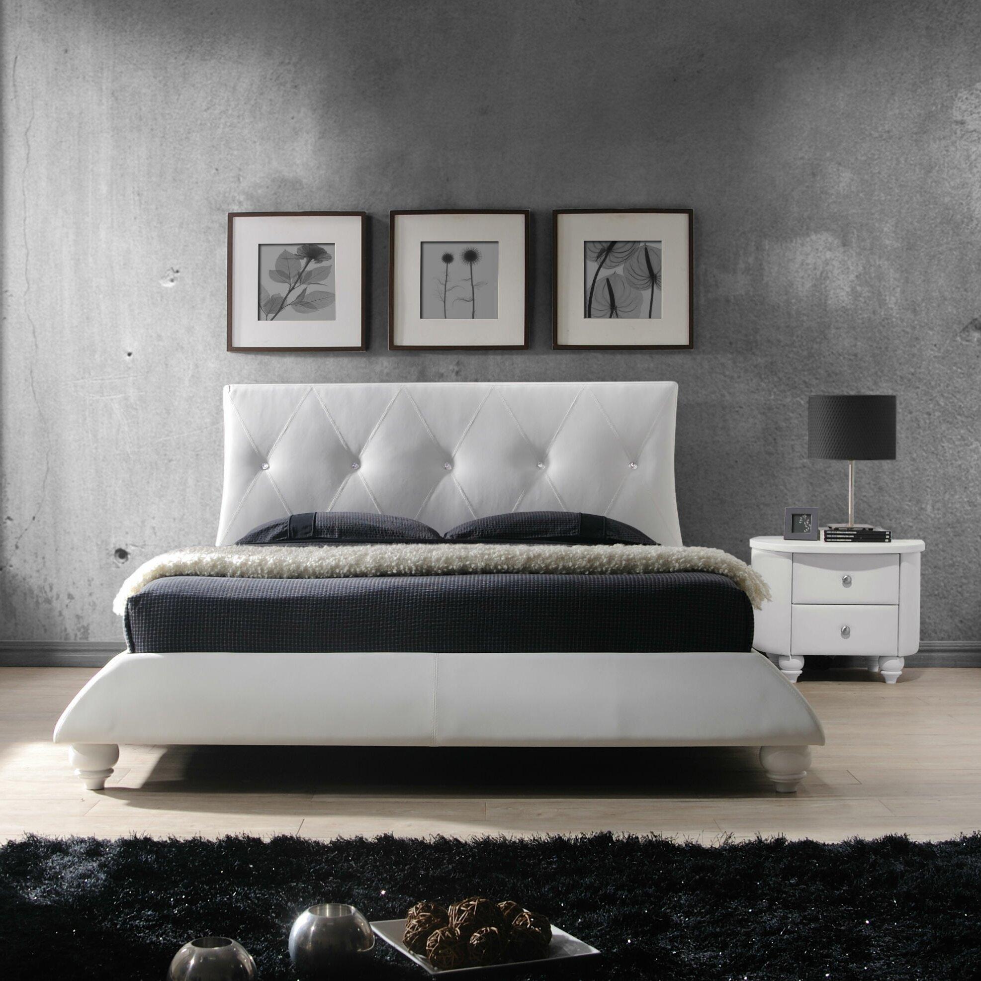 Dg Casa Bellagio Platform Customizable Bedroom Set Reviews Wayfair
