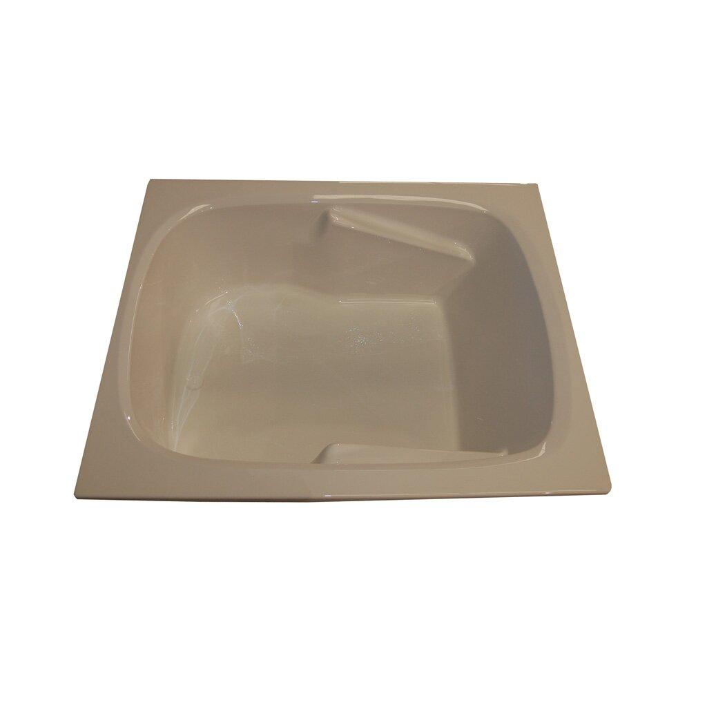 60 x 48 arm rest soaking tub wayfair for Fenetre 48 x 60