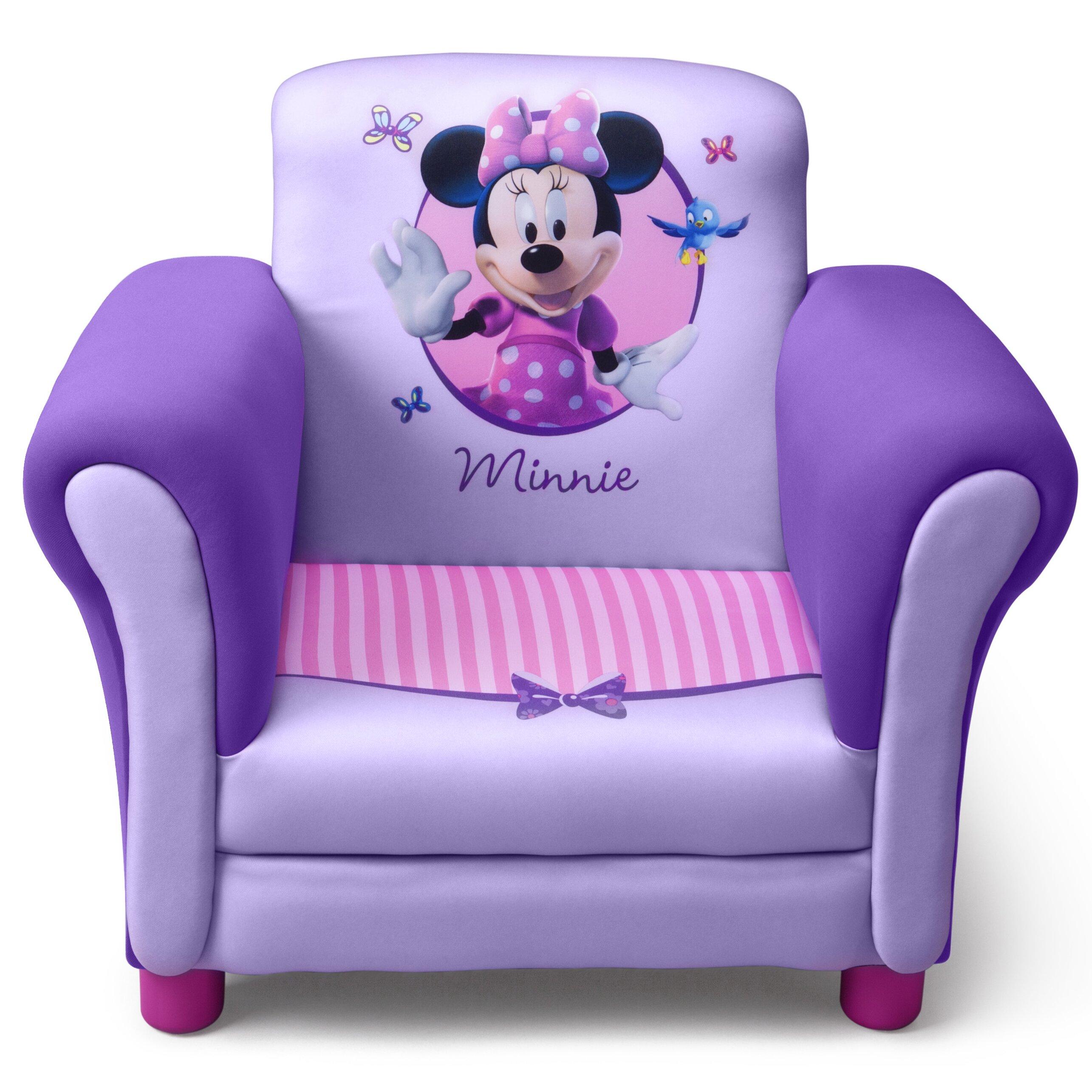 Awe Inspiring Delta Children Minnie Mouse Kids Club Chair Delta Children Creativecarmelina Interior Chair Design Creativecarmelinacom