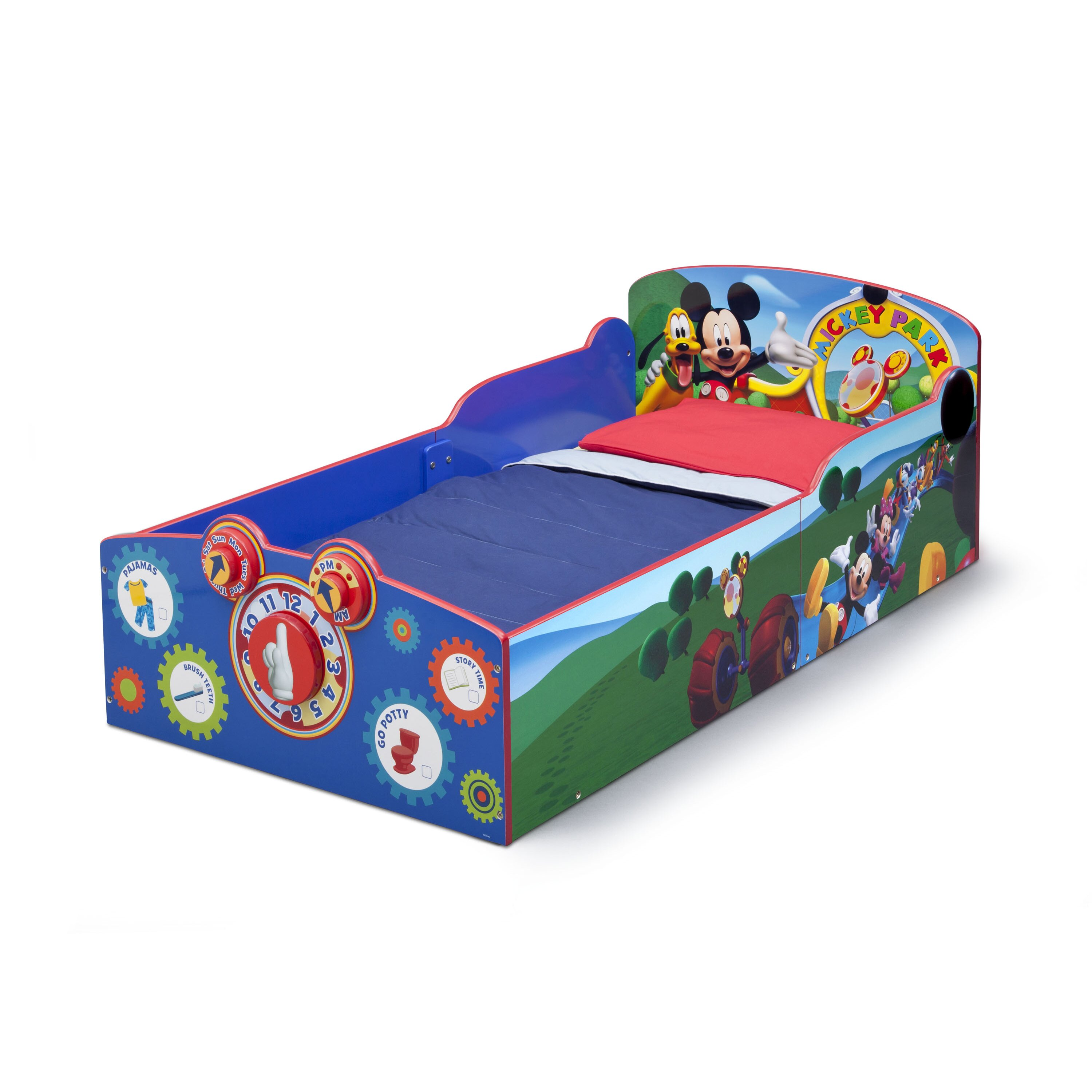 Delta Children Mickey Mouse Convertible Toddler Bed