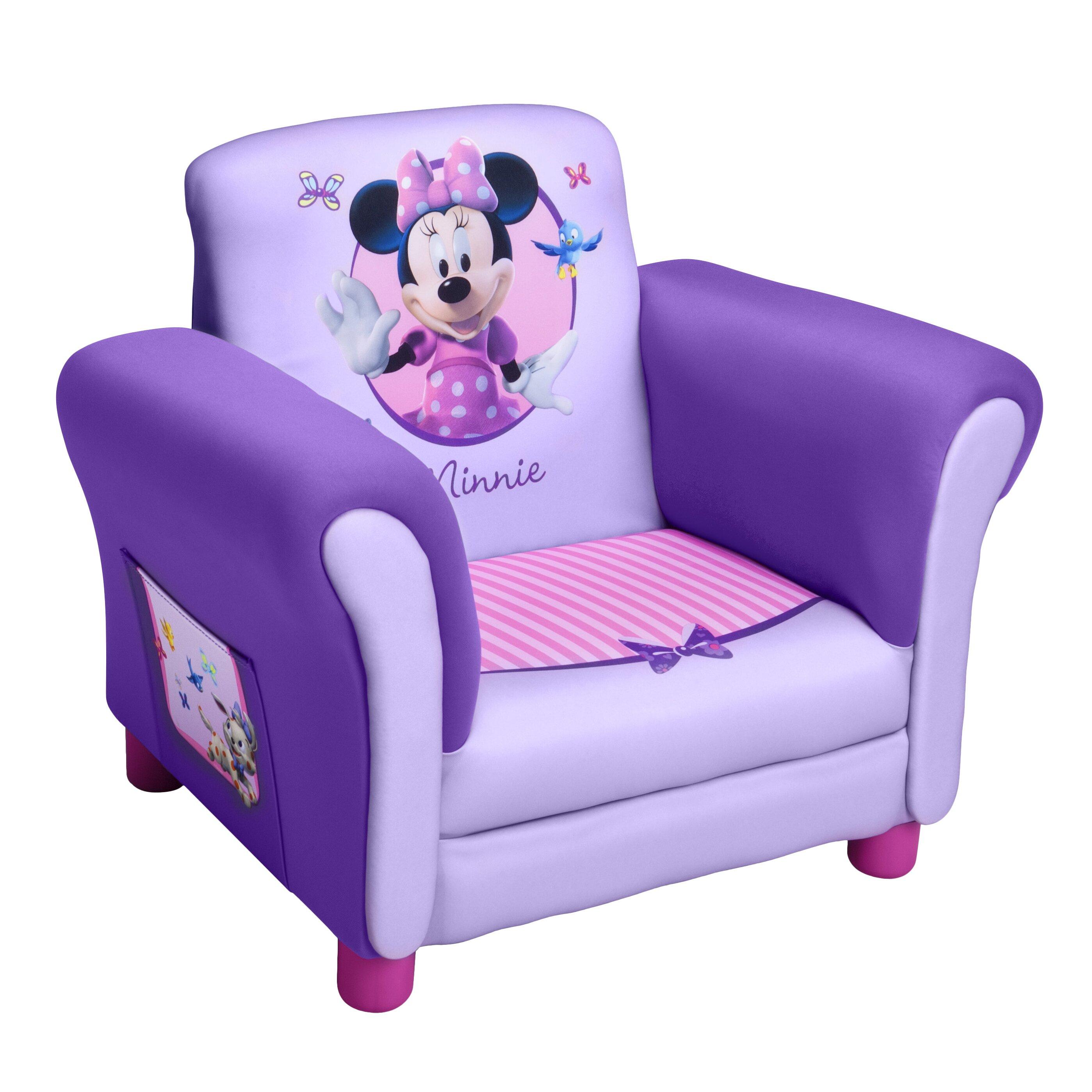 Delta Children Disney Minnie Mouse Kids Club Chair