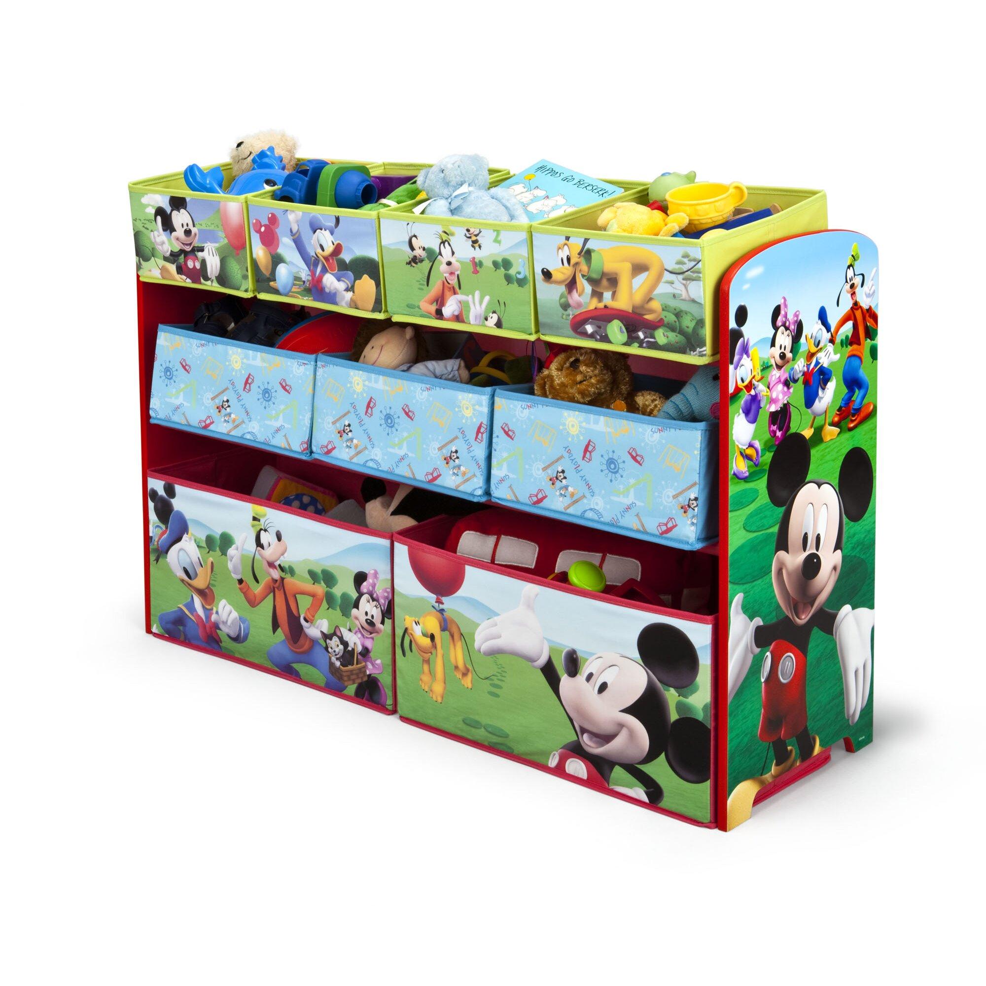 delta children disney mickey mouse toy organizer reviews. Black Bedroom Furniture Sets. Home Design Ideas
