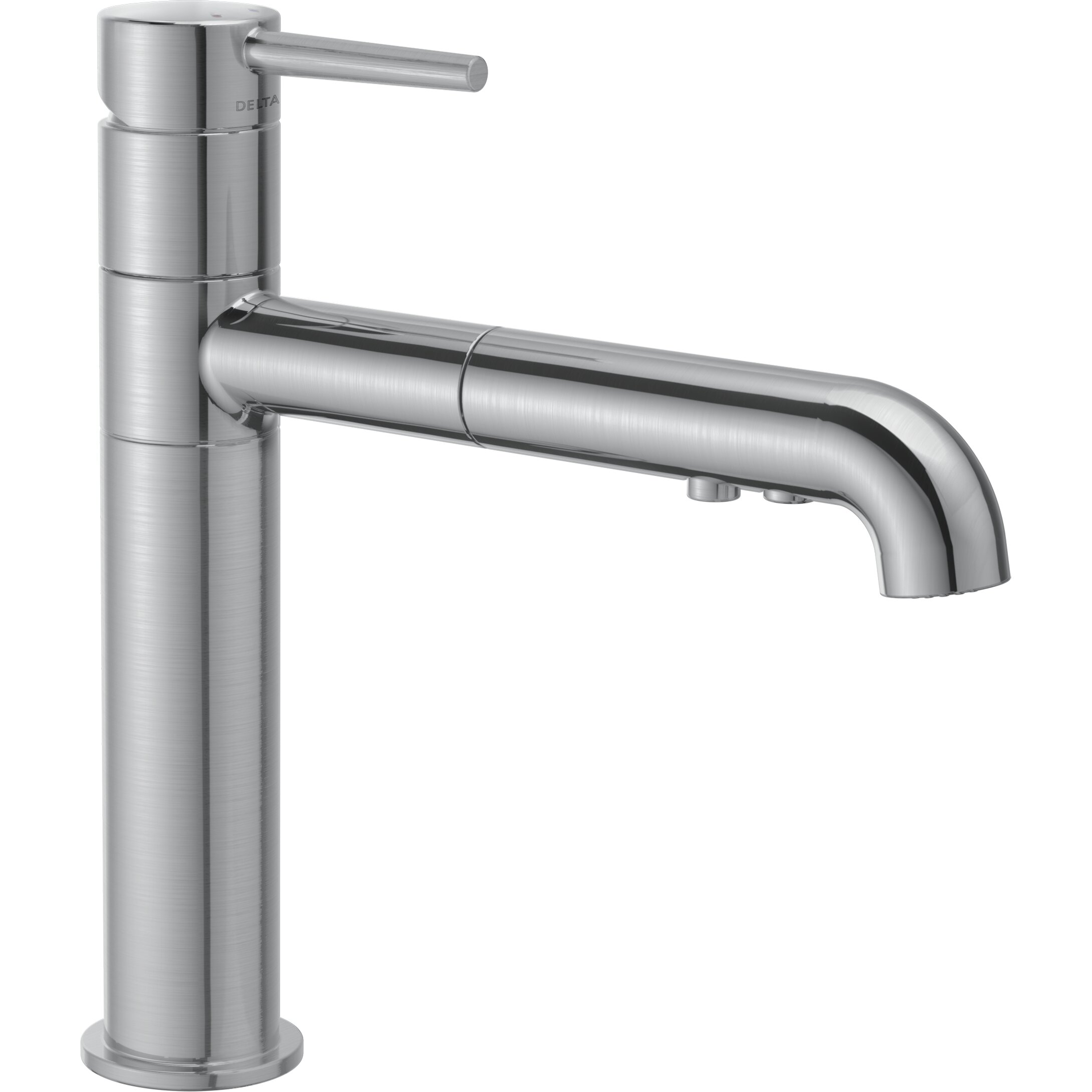 ... Trinsic? Single Handle Pull-Out Kitchen Faucet & Reviews Wayfair
