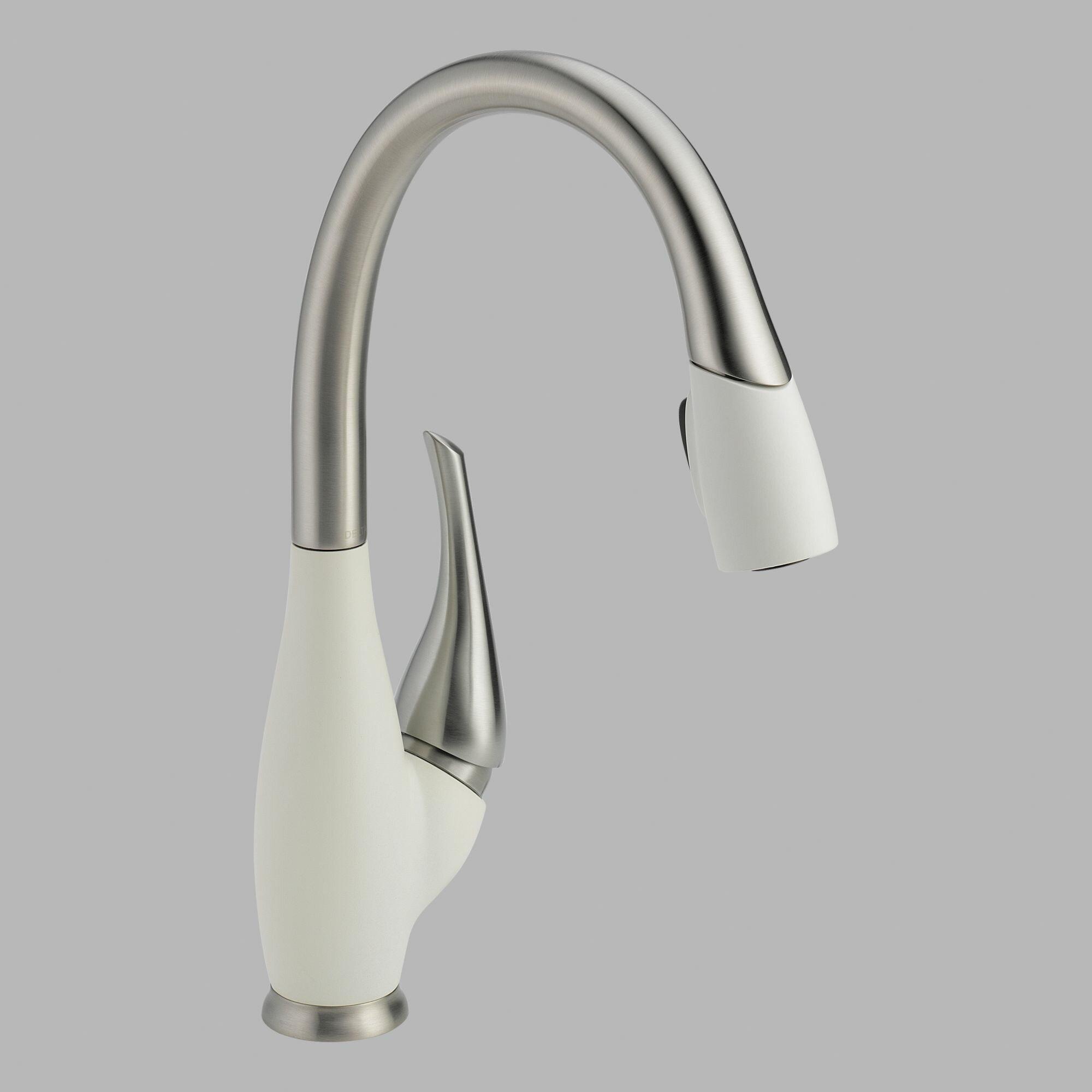 Delta Fuse Single Handle Deck Mounted Kitchen Faucet