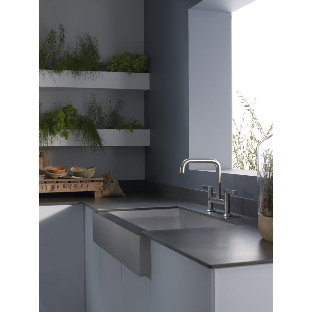 Single Sink Kitchen : Kitchen Sinks Kohler Part #: K-3943 SKU: KOH14823
