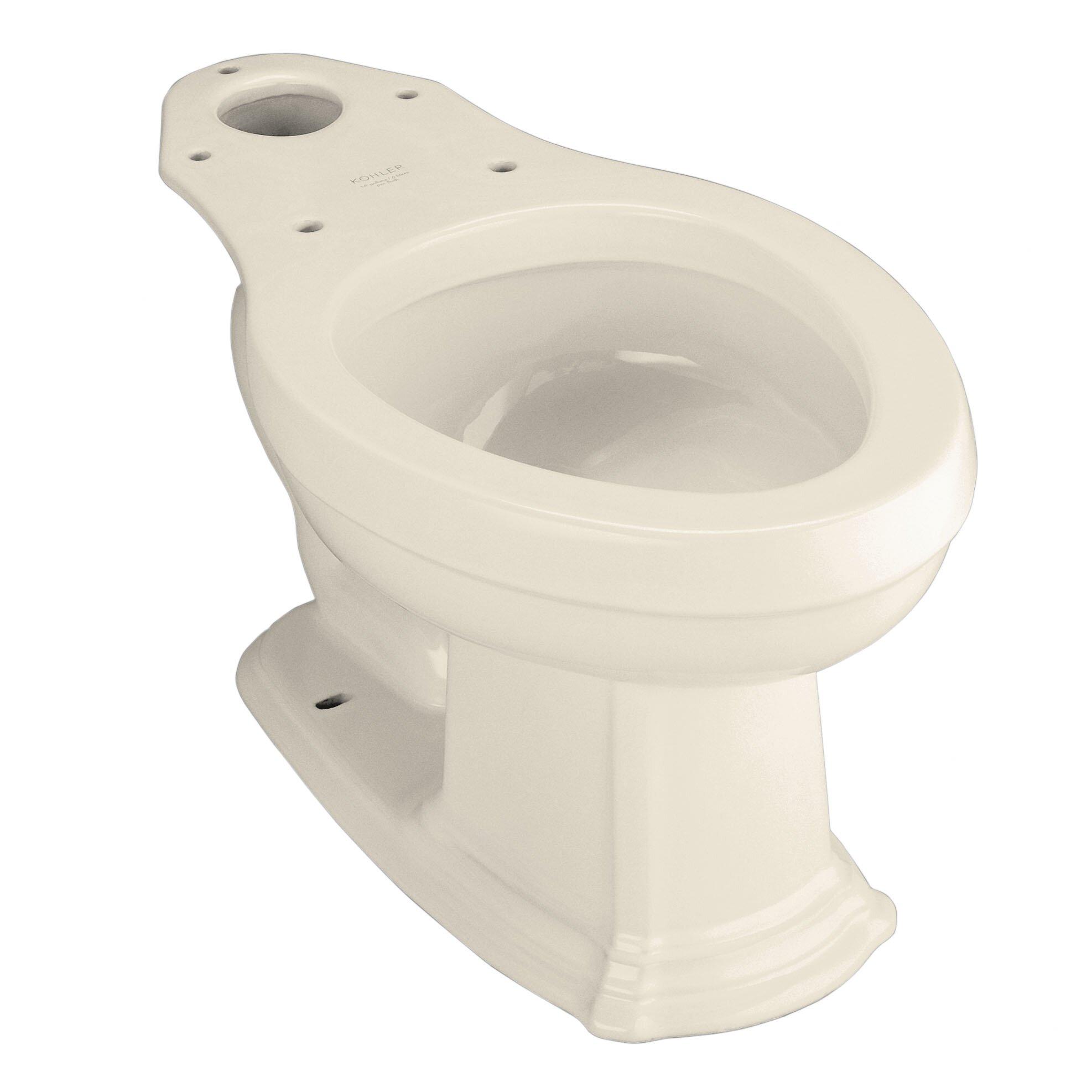 Kohler Portrait Elongated Toilet Bowl Less Seat Amp Reviews