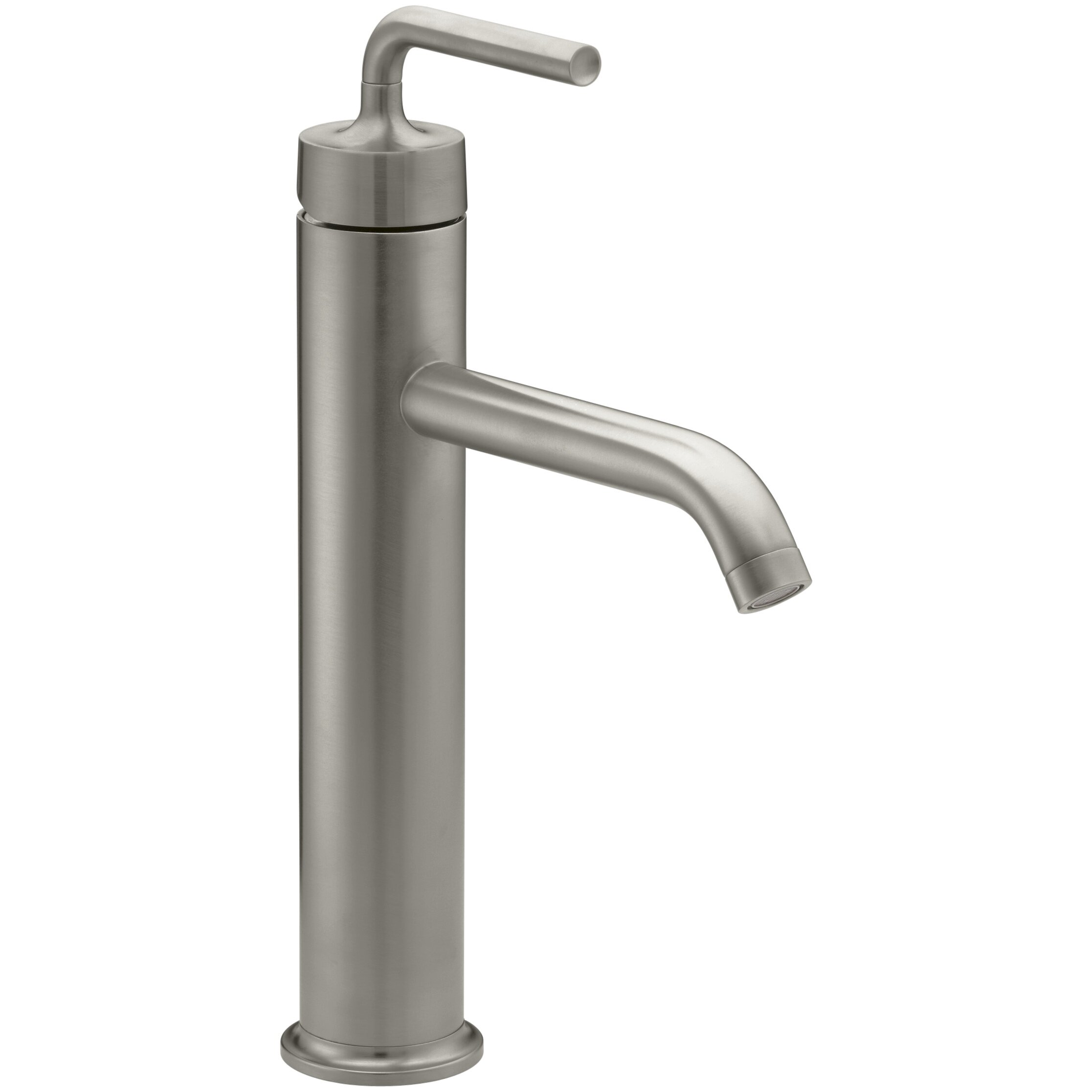 Kohler Faucet Reviews : ... Single-Hole Bathroom Sink Faucet with Straight Lever Handle by Kohler
