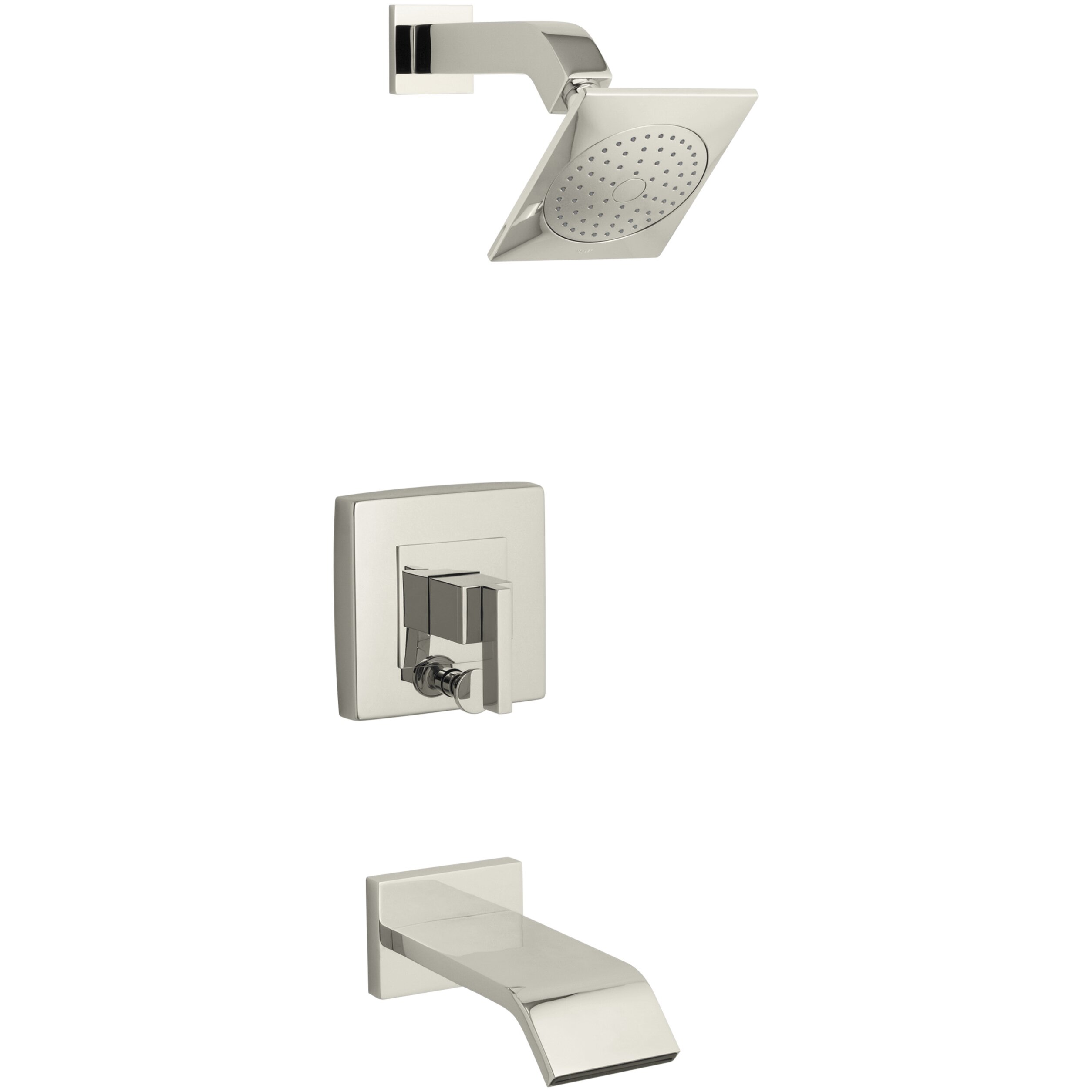 kohler loure rite temp bath shower trim set reviews wayfair