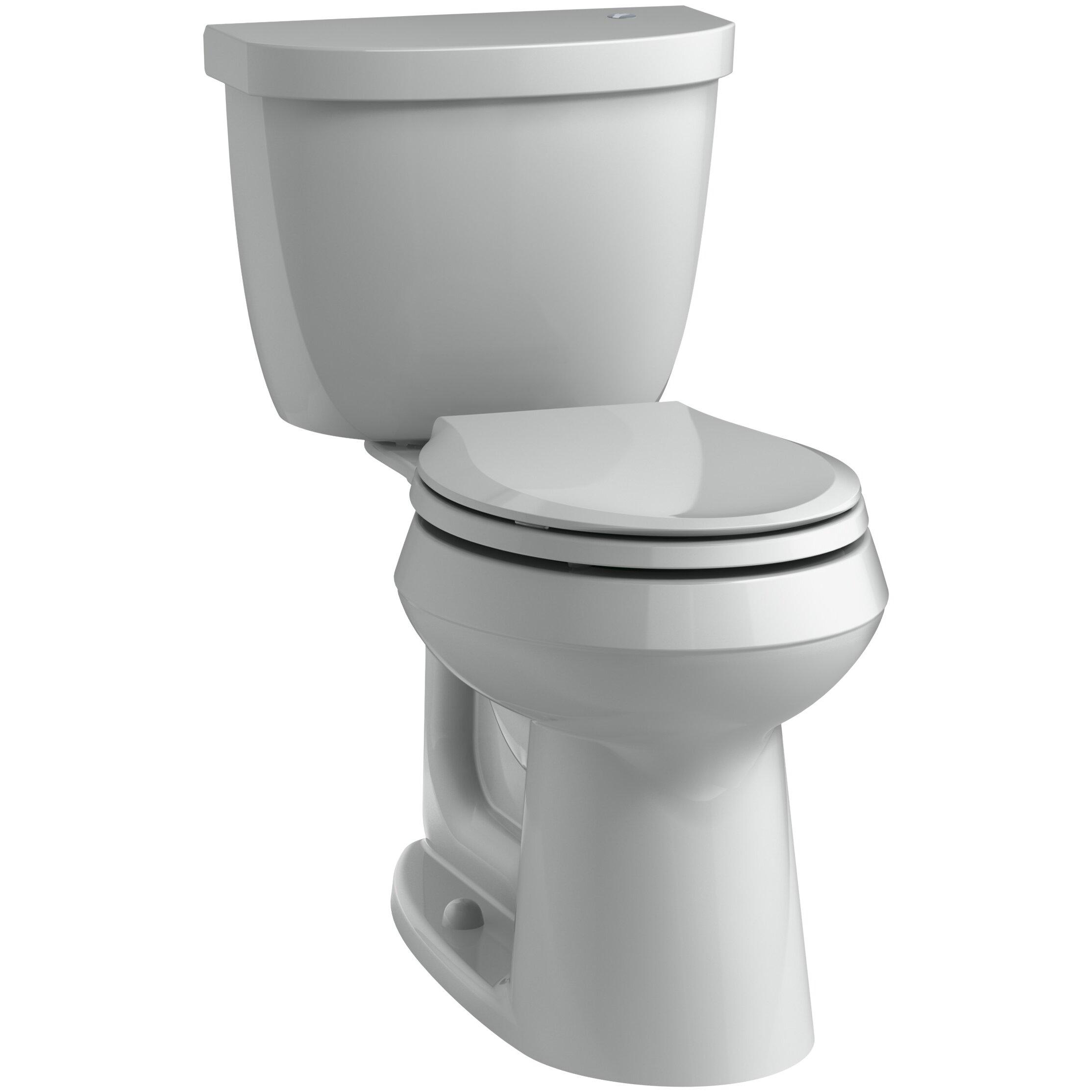 Kohler Cimarron 2 Piece Touchless Toilet With Aquapiston