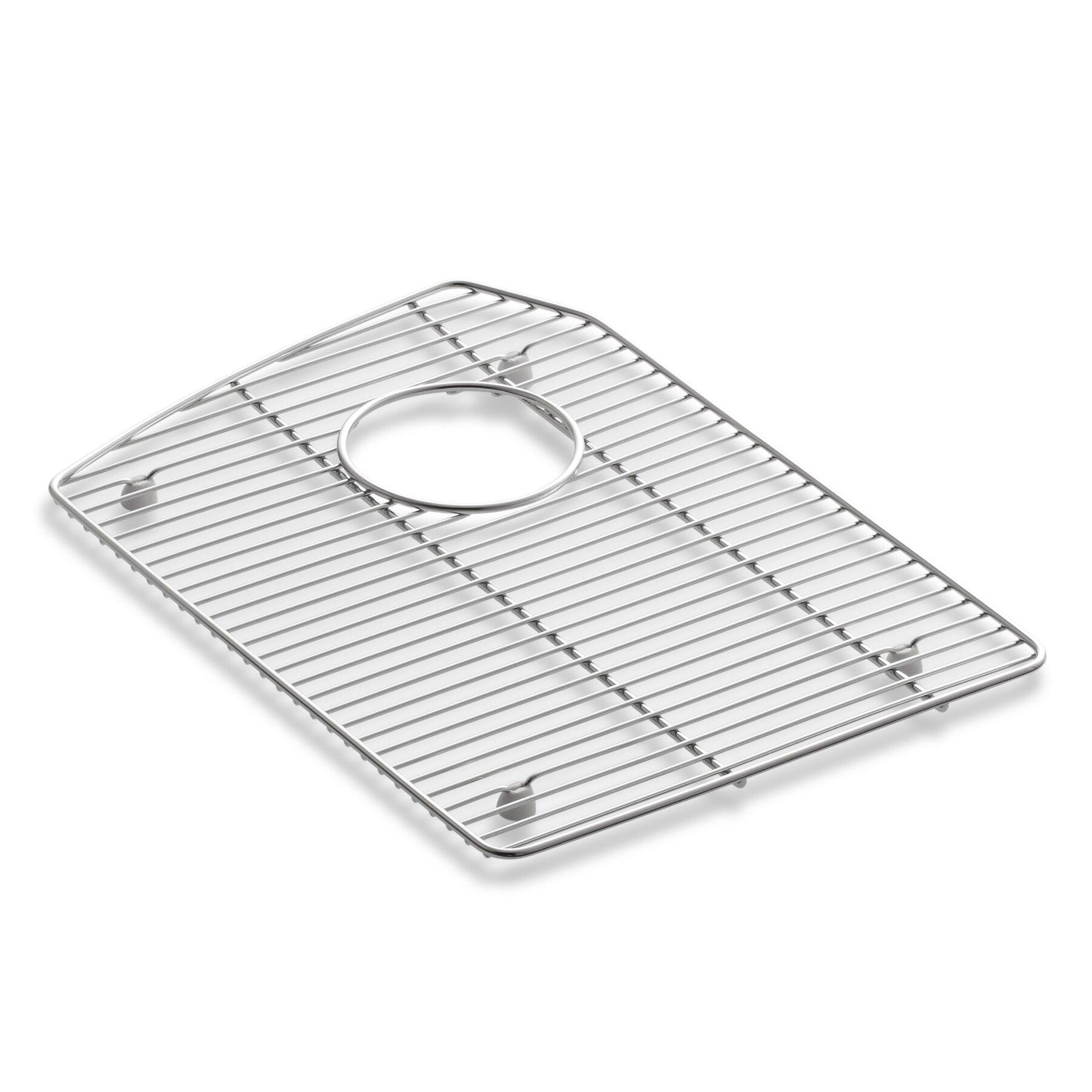 ... Steel Sink Rack for Left-Hand Bowl Of Tanager Kitchen Sink by Kohler