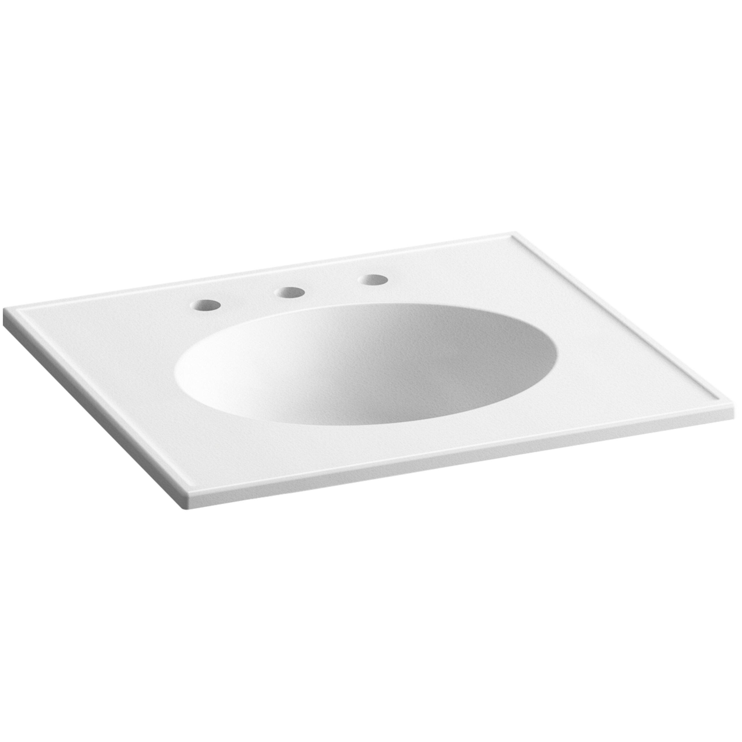 Oval Vanity Sink : Kohler Ceramic/Impressions 25