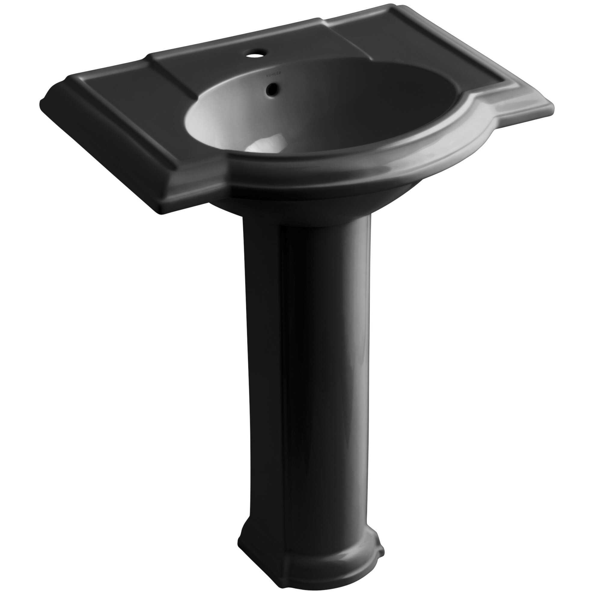 Devonshire 27 Quot Pedestal Bathroom Sink With Single Faucet