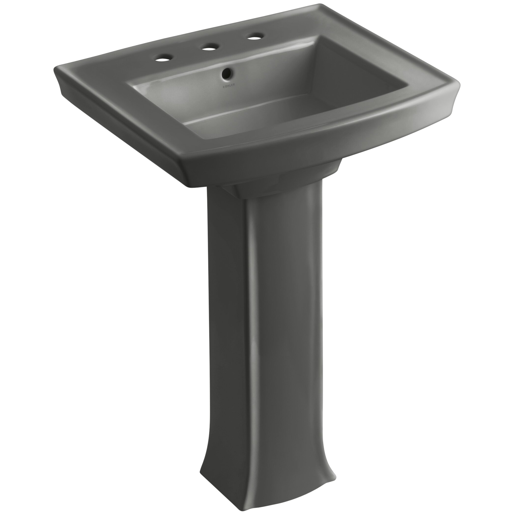 Kohler Pedestal : Kohler Kohler Archer Pedestal Sink & Reviews Wayfair