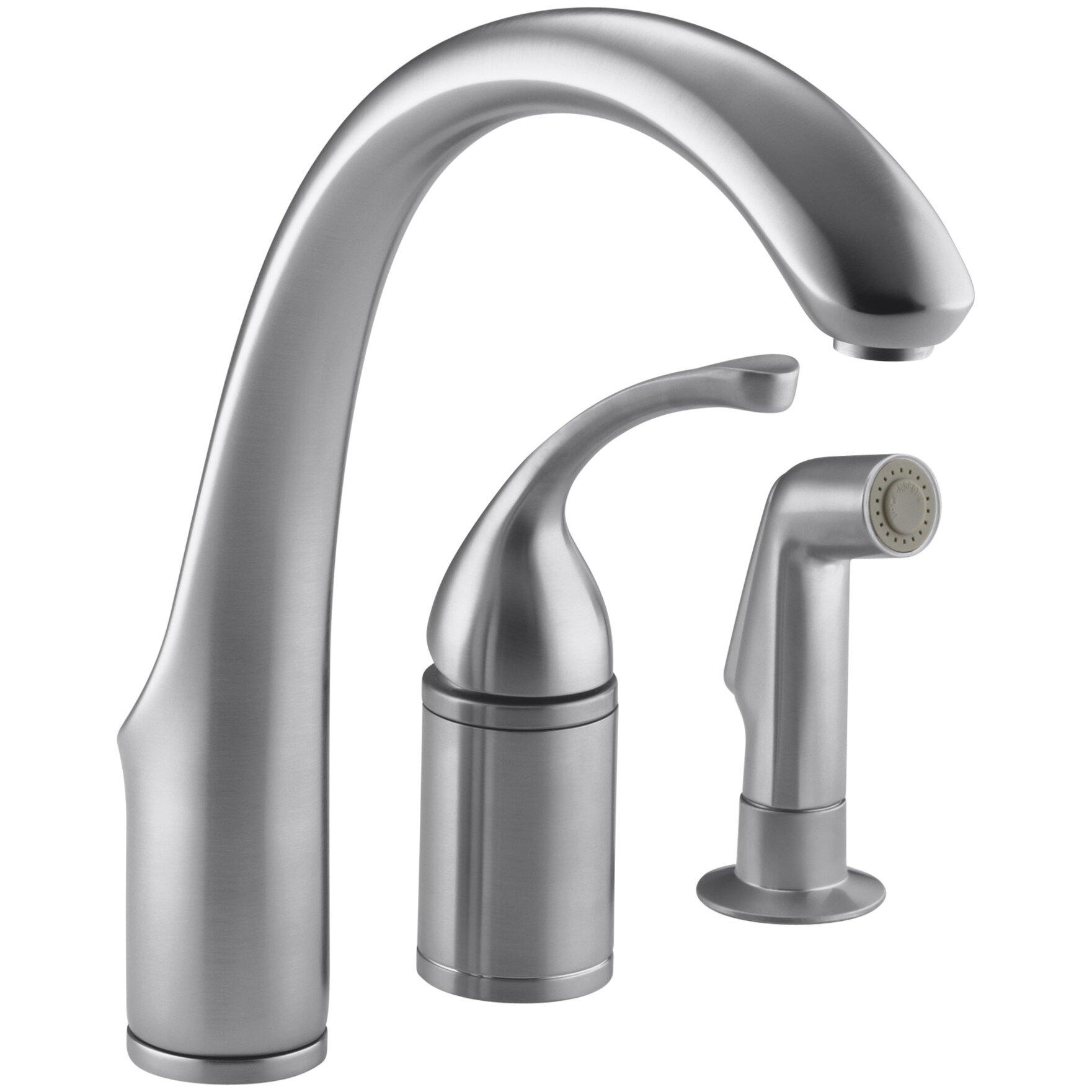 Hole Remote Valve Kitchen Sink Faucet