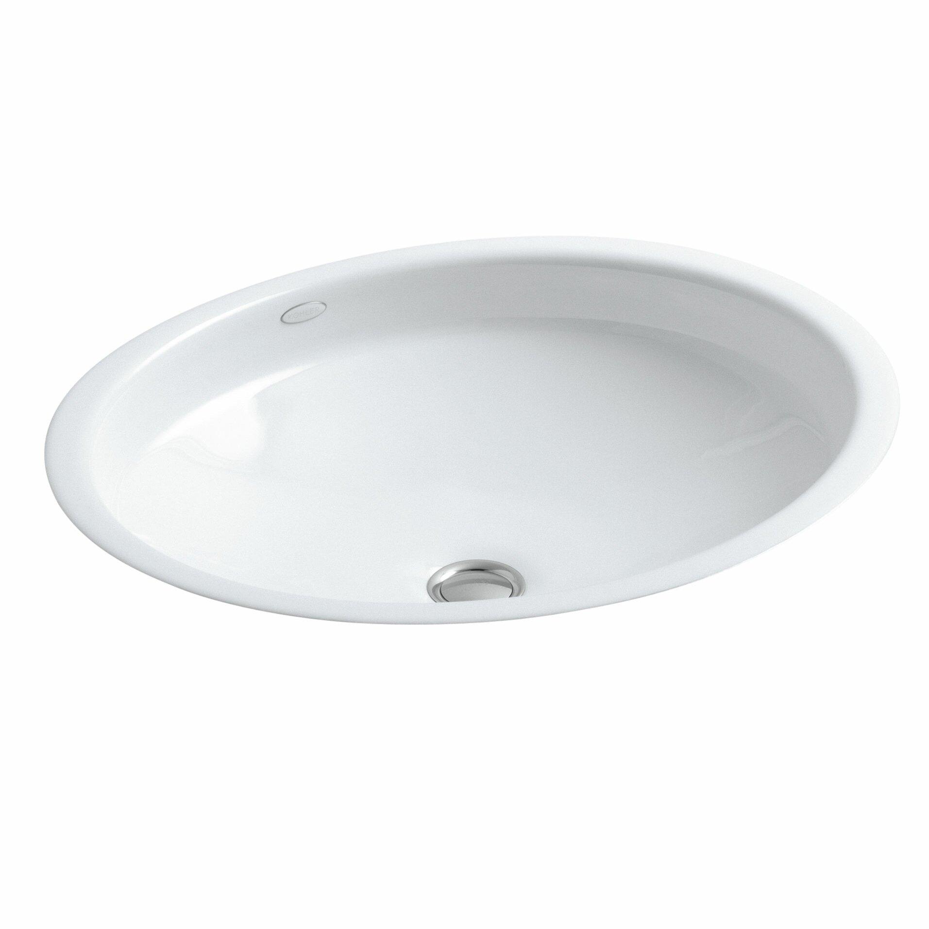 Canvas Undermount Bathroom Sink by Kohler
