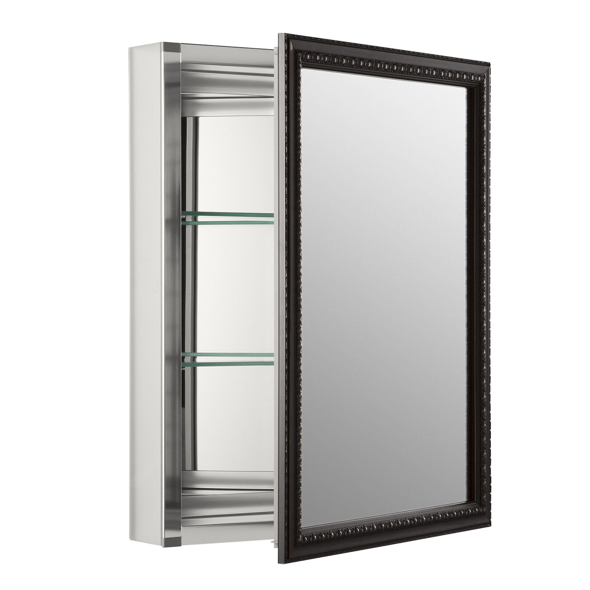 26 wall mount mirrored medicine cabinet with mirrored door by kohler