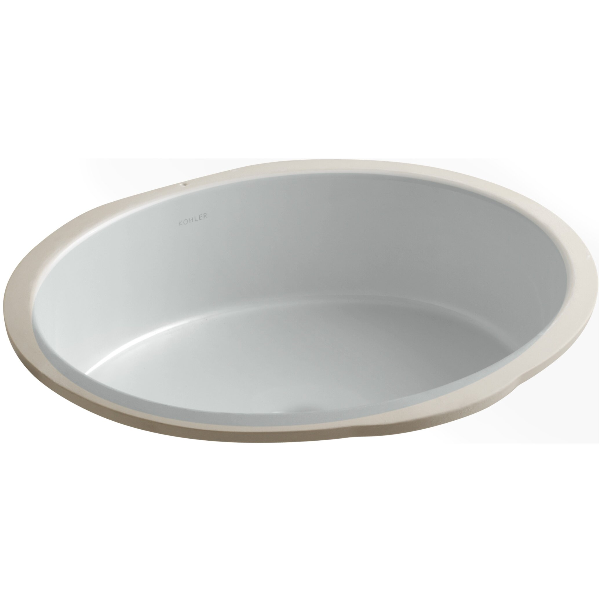 Kohler Undermount Bathroom Sinks : Kohler Verticyl Oval Undermount Bathroom Sink & Reviews Wayfair