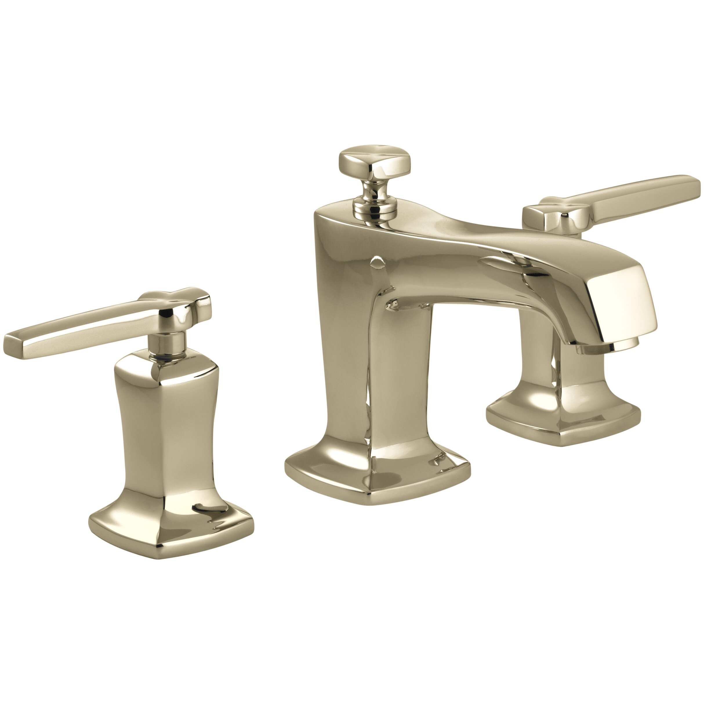 Kohler Margaux Widespread Bathroom Sink Faucet with Lever Handles ...