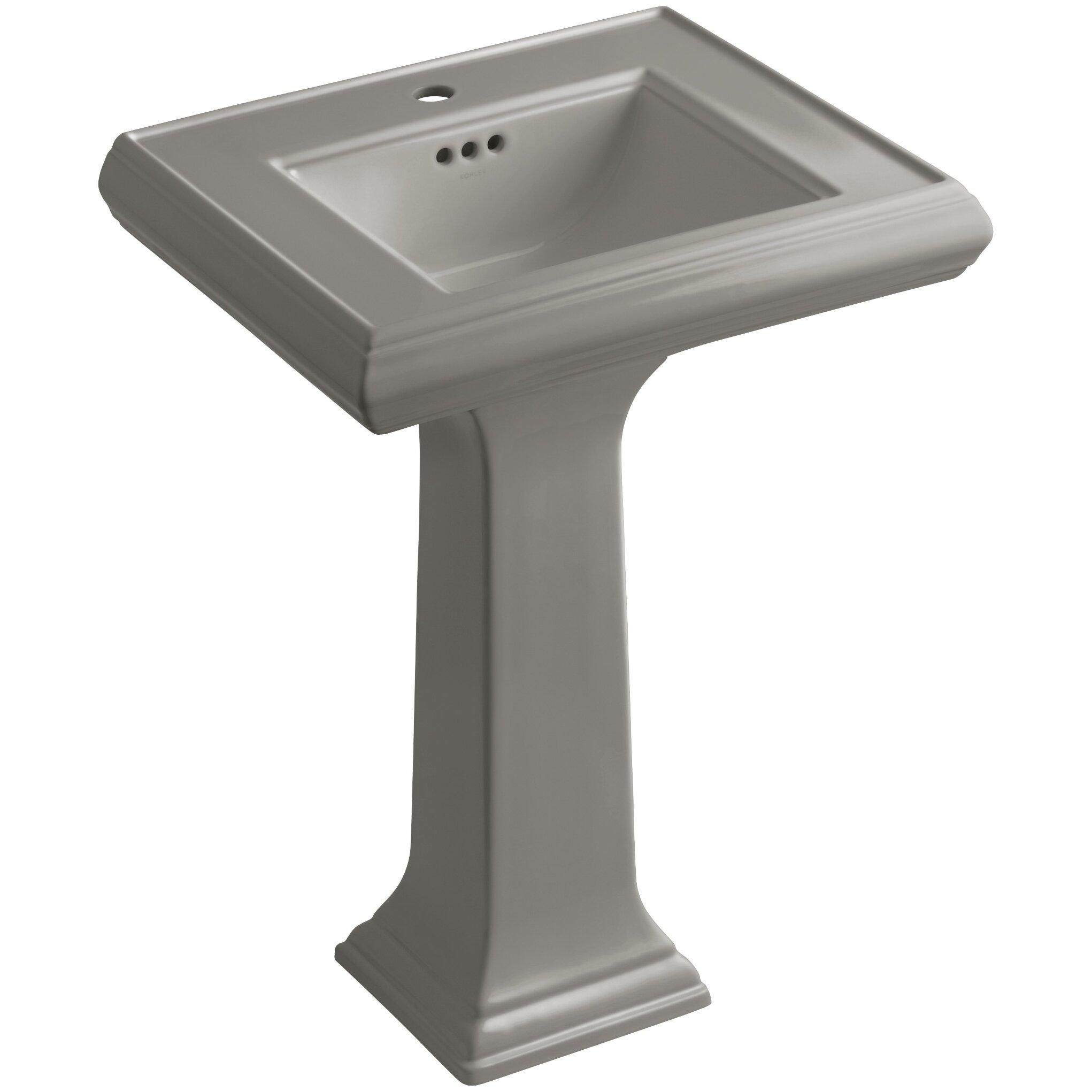 Kohler Memoirs Pedestal Sink : Kohler Memoirs Classic 24