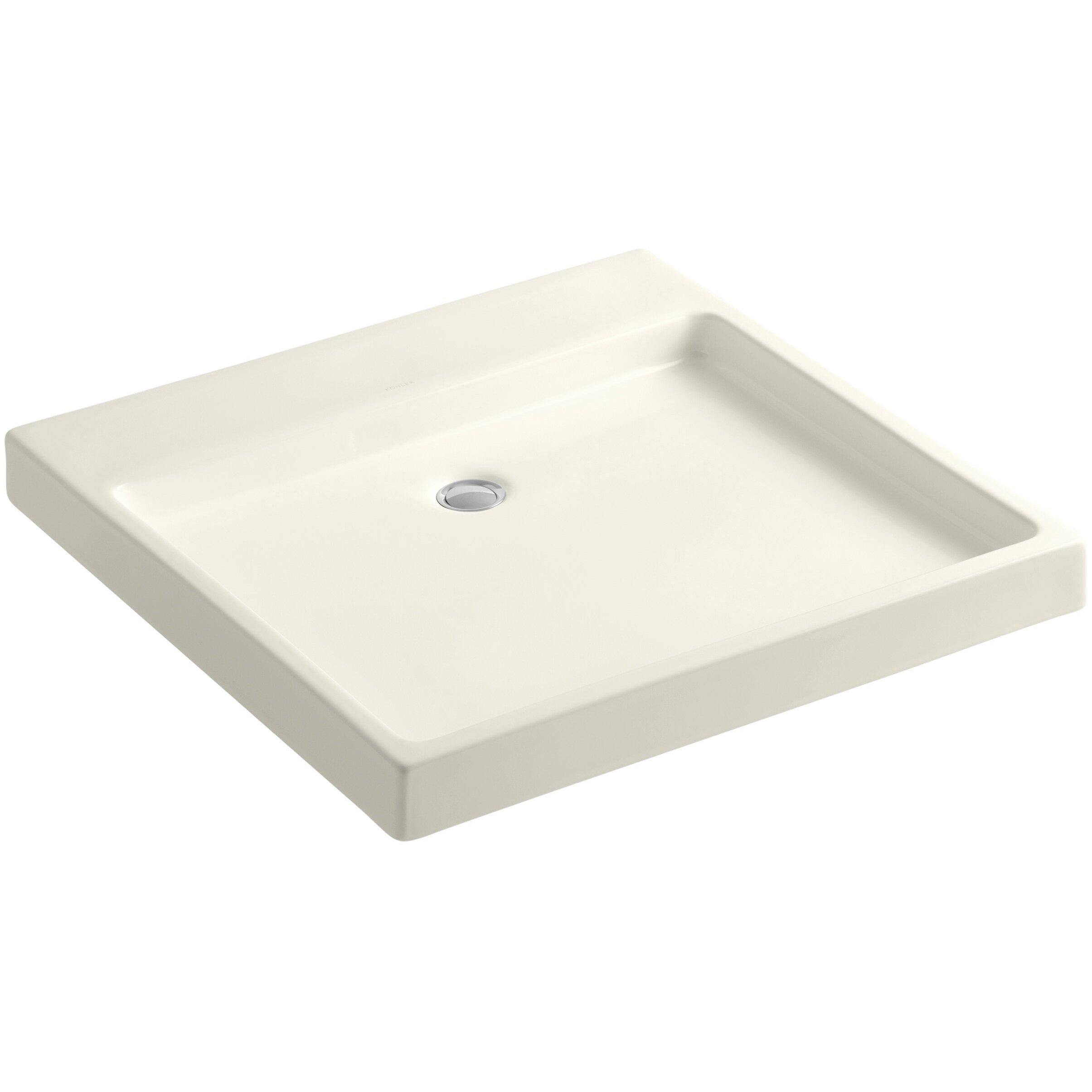 Kohler Wall Mount Sink : Kohler Purist Wading Pool Above-Counter/Wall-Mount Bathroom Sink ...
