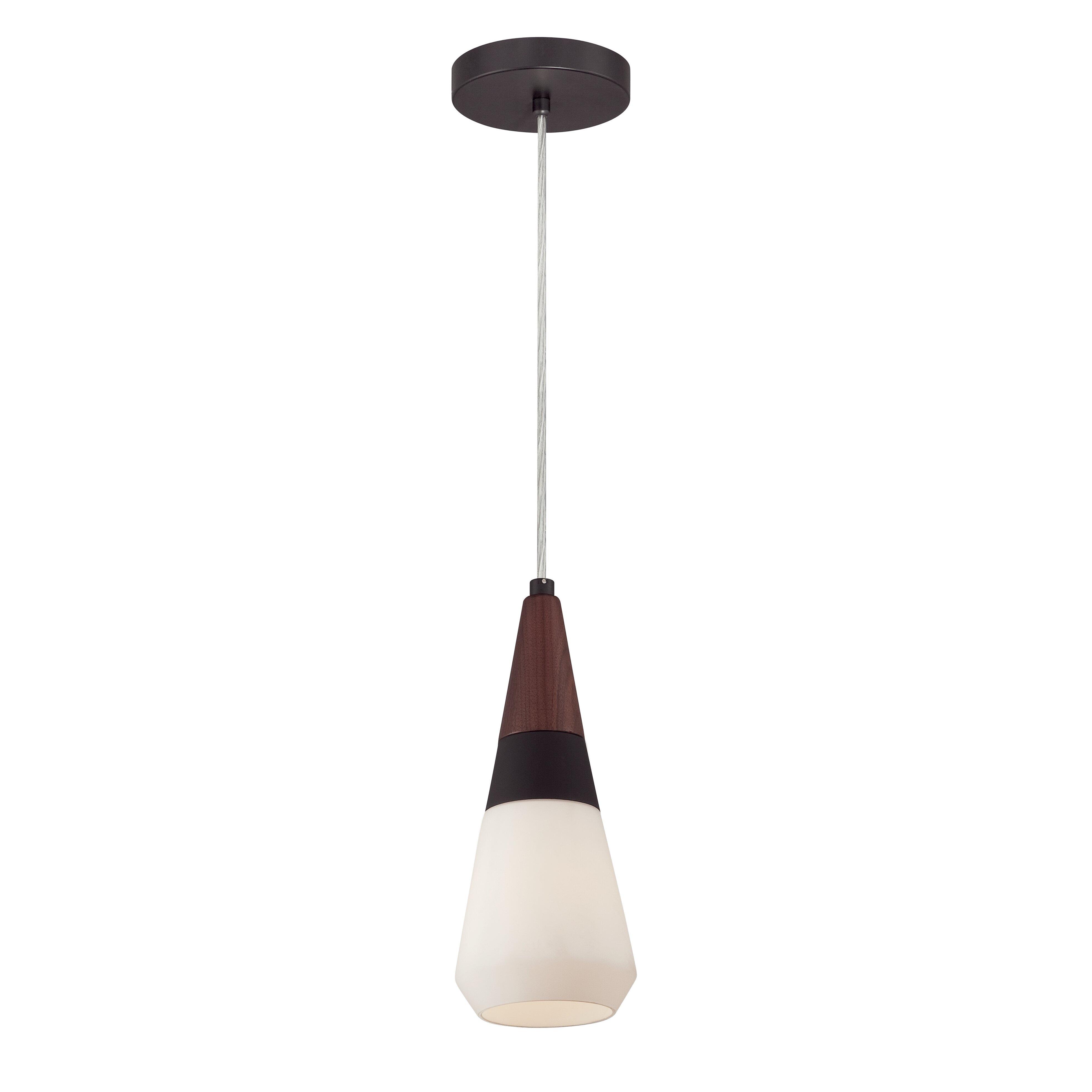 philips consumer luminaire rustique 1 light mini pendant reviews wayfair. Black Bedroom Furniture Sets. Home Design Ideas