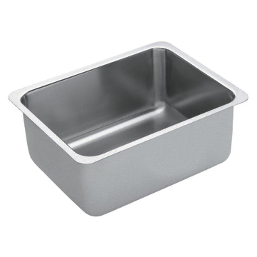 Moen Kitchen Sinks : Moen 1800 Series Single Bowl Kitchen Sink