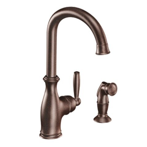 Moen Brantford Single Handle Single Hole Kitchen Faucet