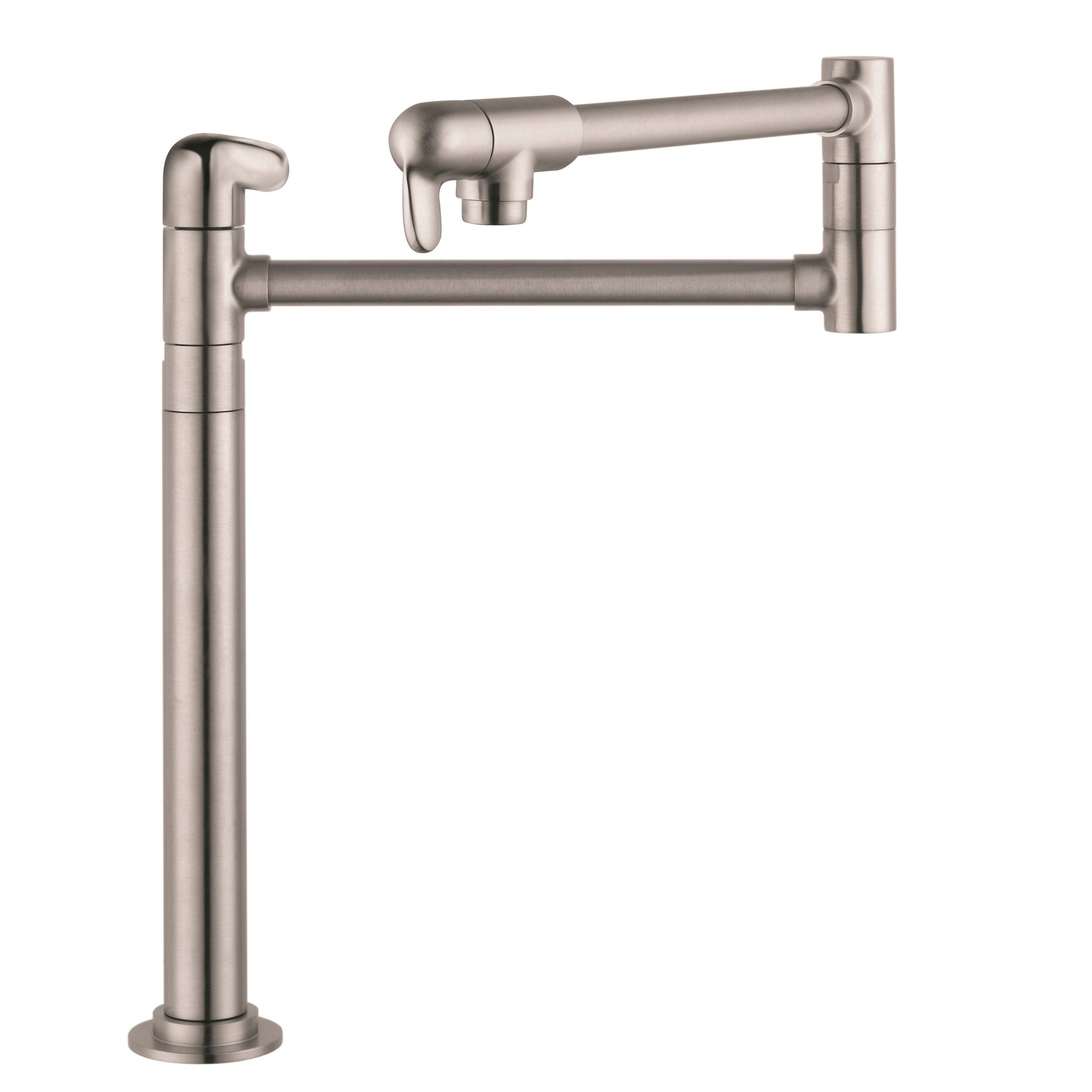 Hansgrohe Allegro E Hansgrohe Allegro E Single Handle Deck Mounted Pot Filler Faucet