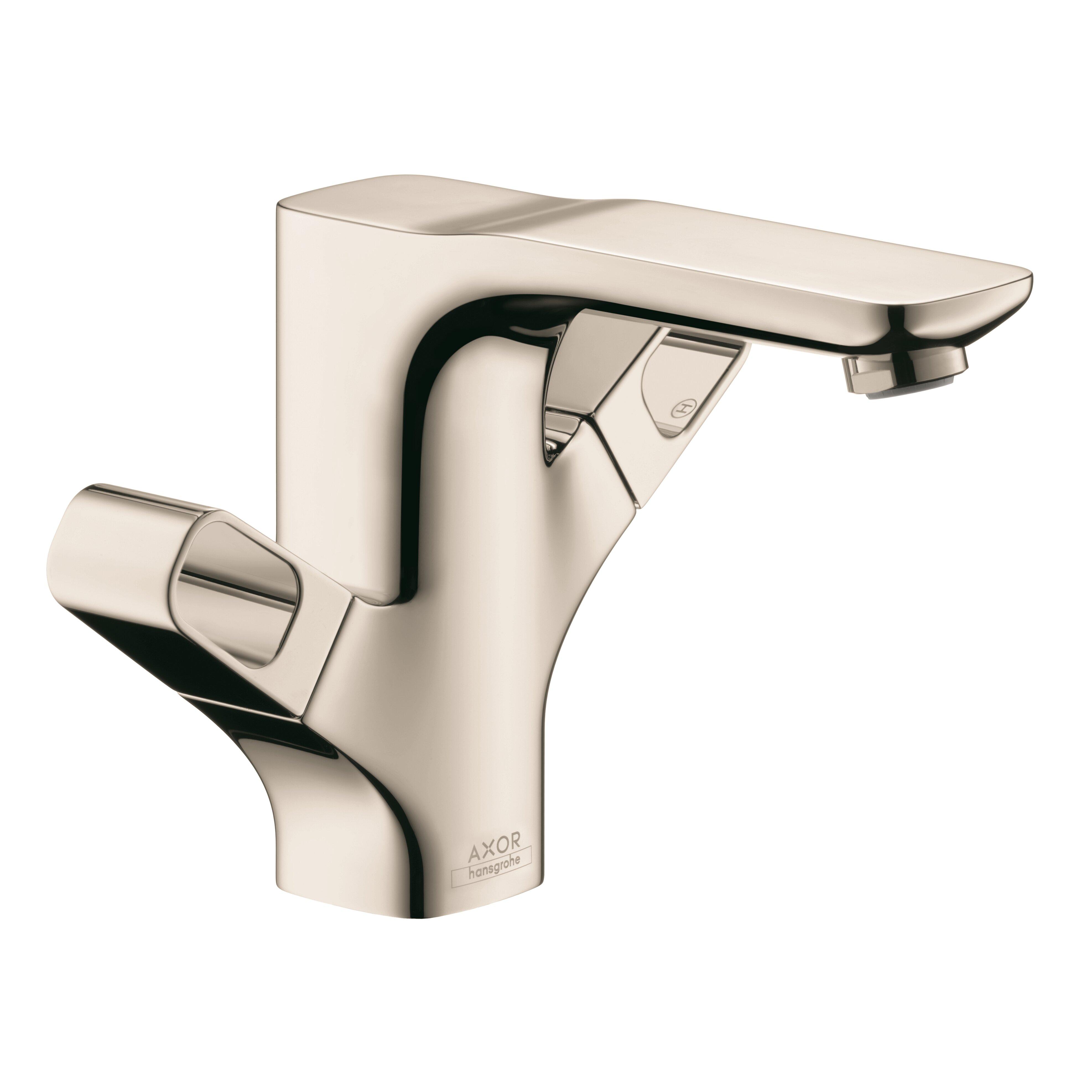 Axor Urquiola Double Handle Single Hole Bathroom Faucet by Hansgrohe