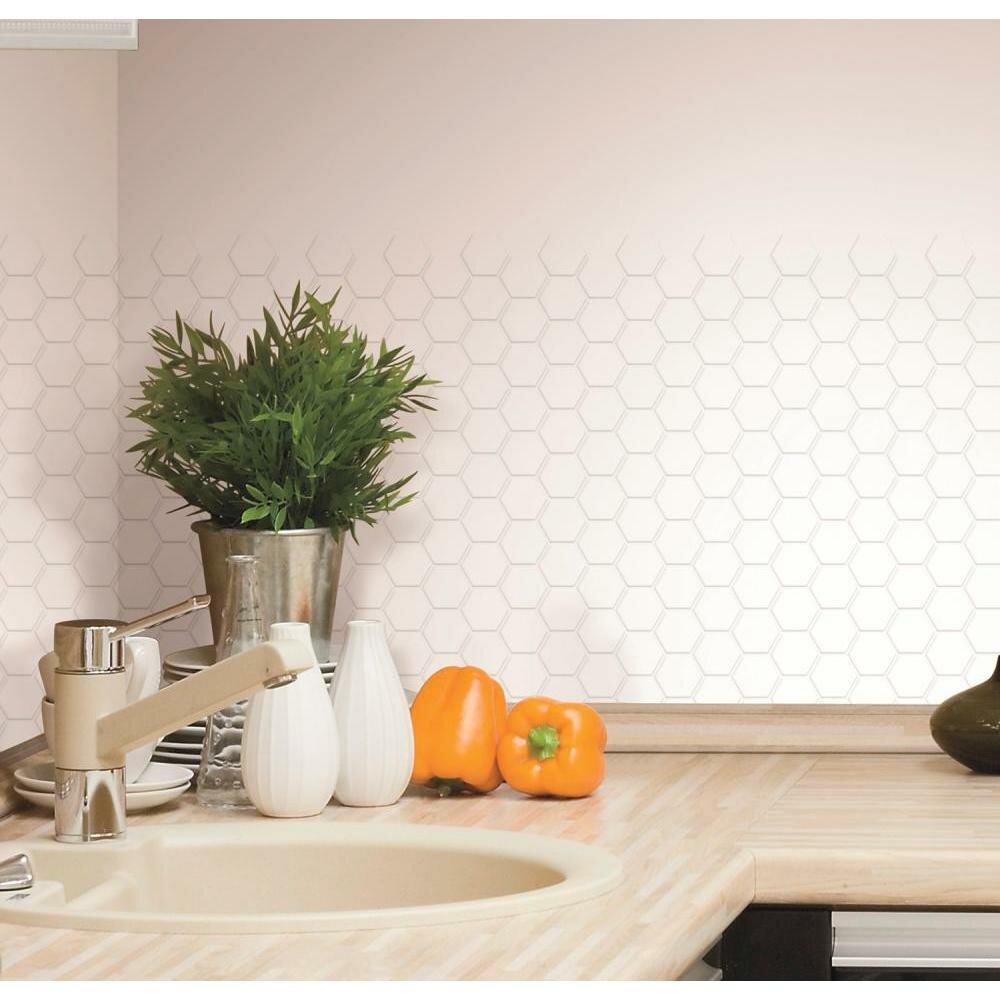 peel stick tiles wayfair. Black Bedroom Furniture Sets. Home Design Ideas