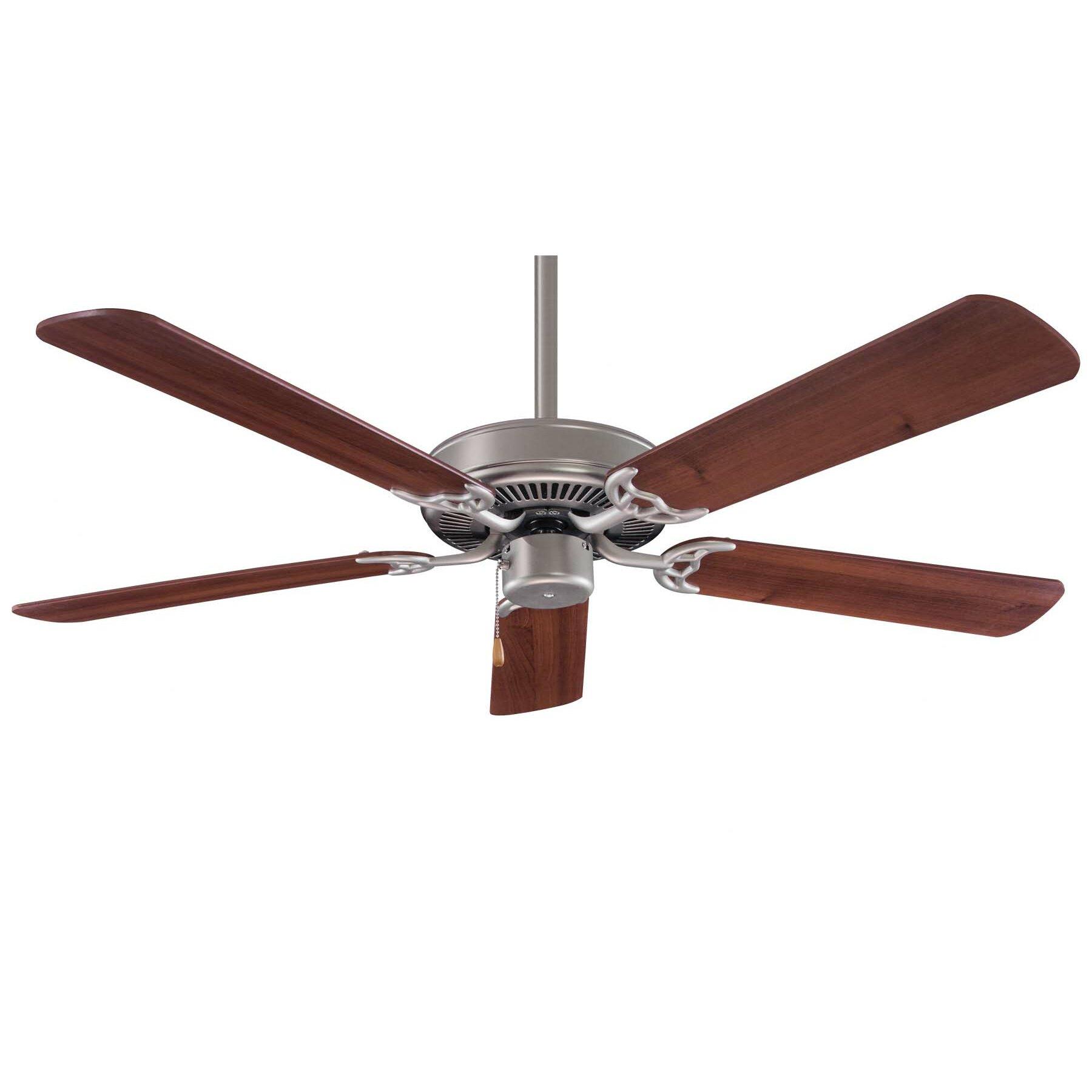 "Ceiling Fan Minka Aire: Minka Aire 42"" Contractor 5 Blade Ceiling Fan & Reviews"